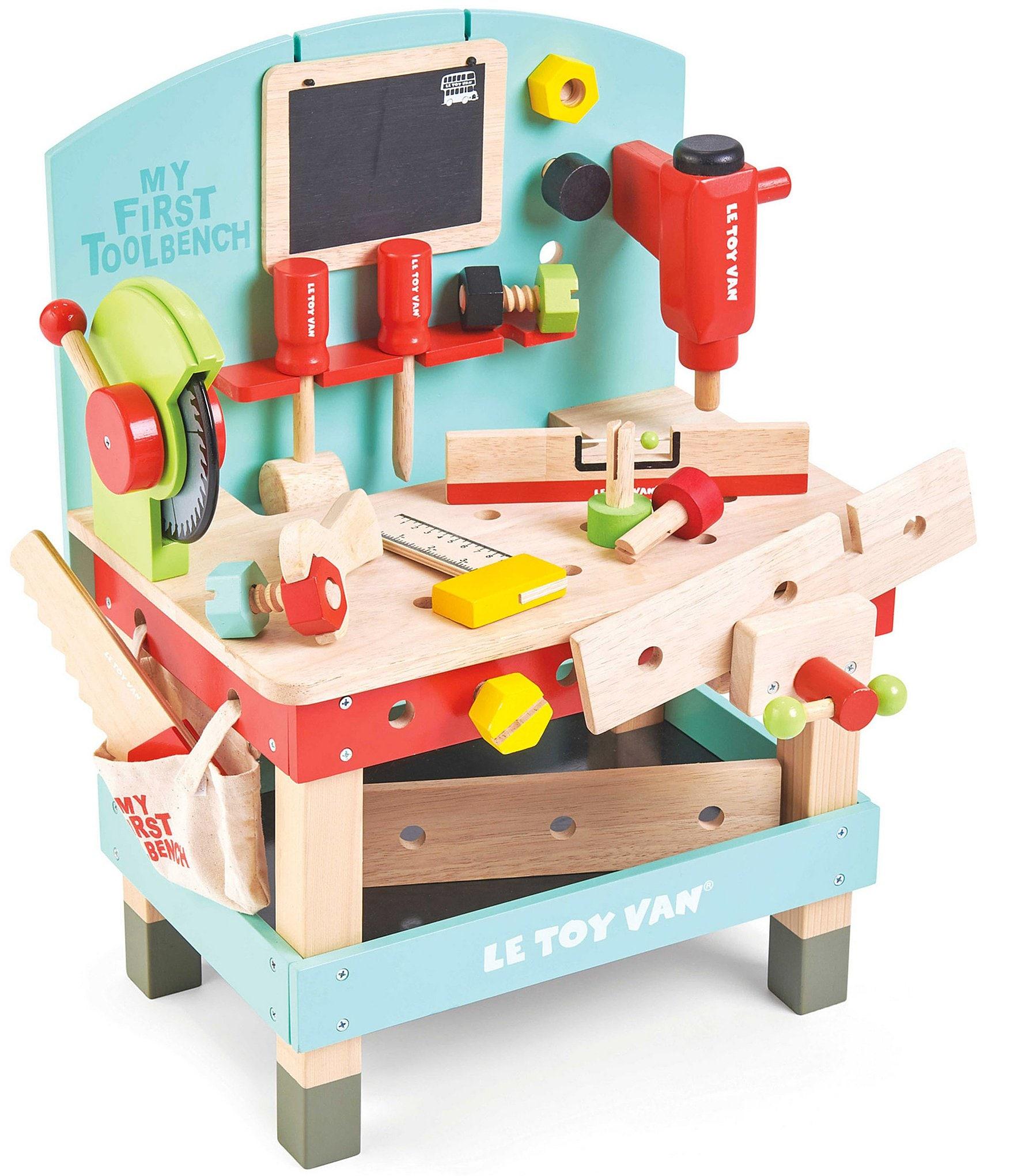 Sensational Le Toy Van Honeybake My First Tool Bench Theyellowbook Wood Chair Design Ideas Theyellowbookinfo