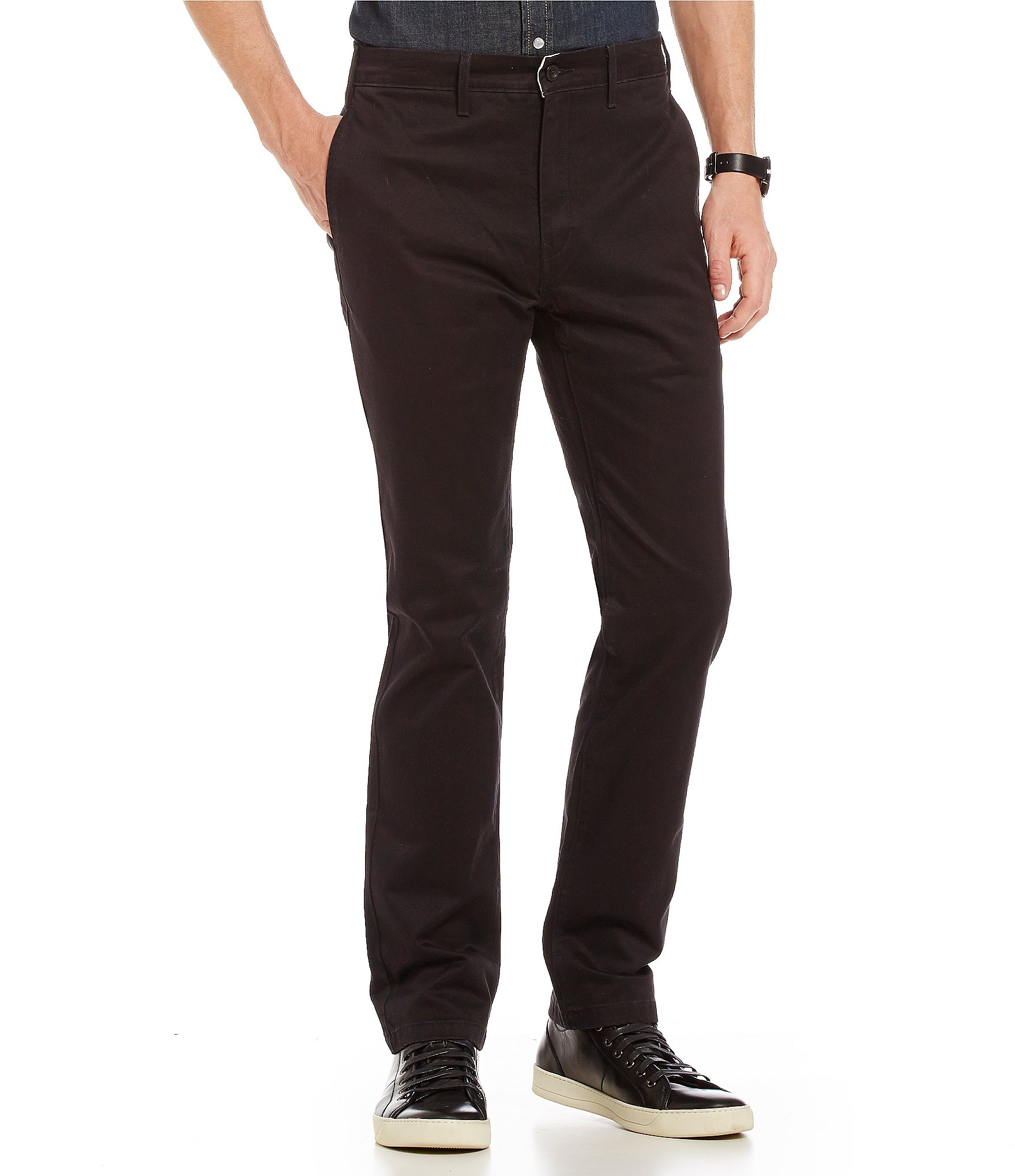 levi 39 s 511 slim fit stretch twill chino pants dillards. Black Bedroom Furniture Sets. Home Design Ideas