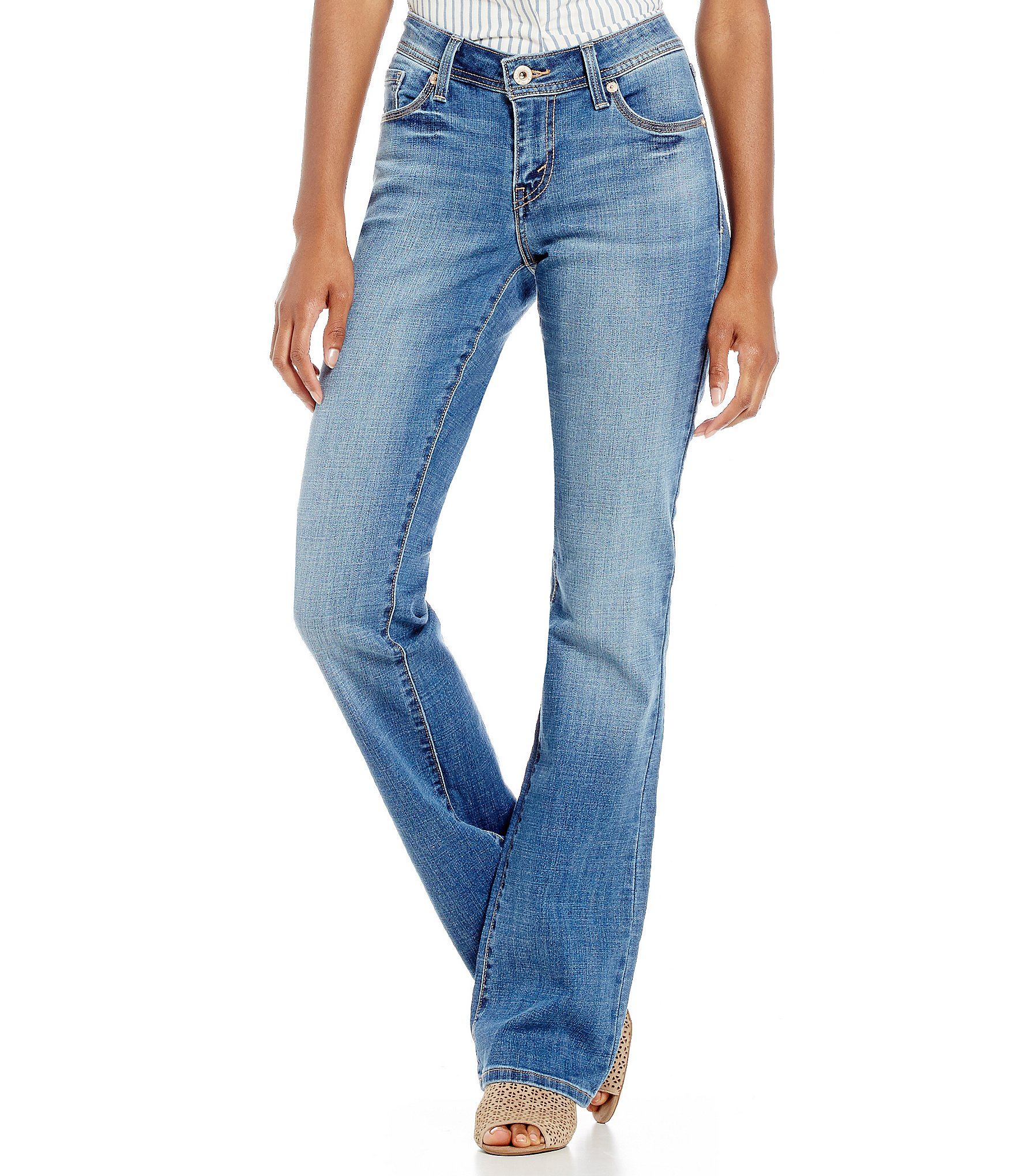 These Luscious Curvy Bootcut jeans feature a double button closure, and Levi's Women's Classic Bootcut Jeans. by Levi's. $ - $ $ 35 $ 46 79 Prime. FREE Shipping on eligible orders. Some sizes/colors are Prime eligible. 4 out of 5 stars Suki Curvy Fit Mid Rise Slim Bootcut Jeans.