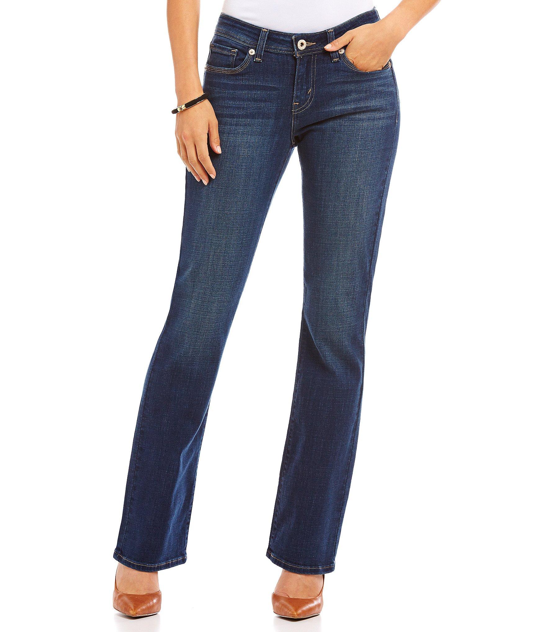 levi s 529 curvy bootcut jeans dillards. Black Bedroom Furniture Sets. Home Design Ideas