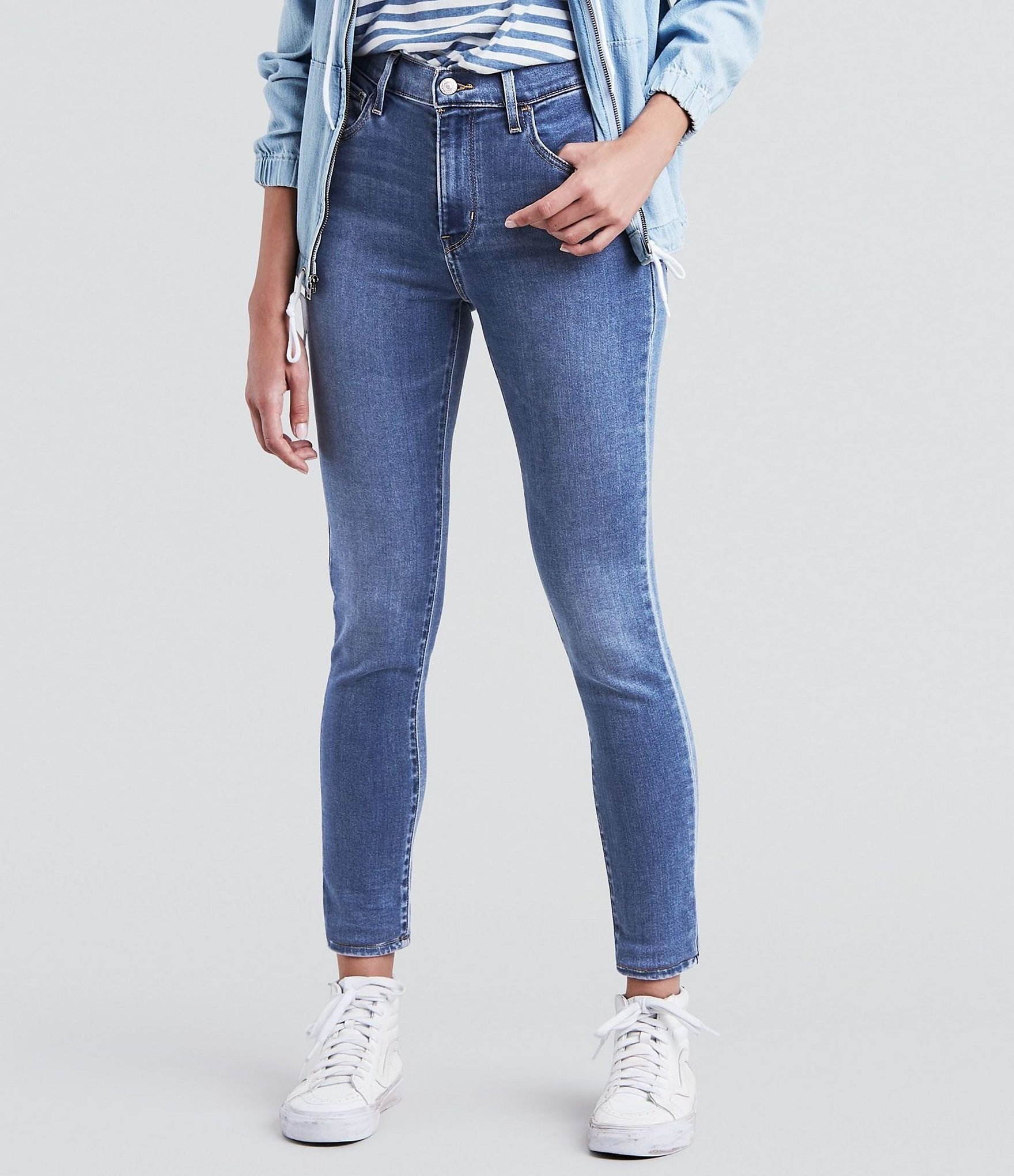 Levi's® 720 High Rise Super Skinny Jeans by Levi's