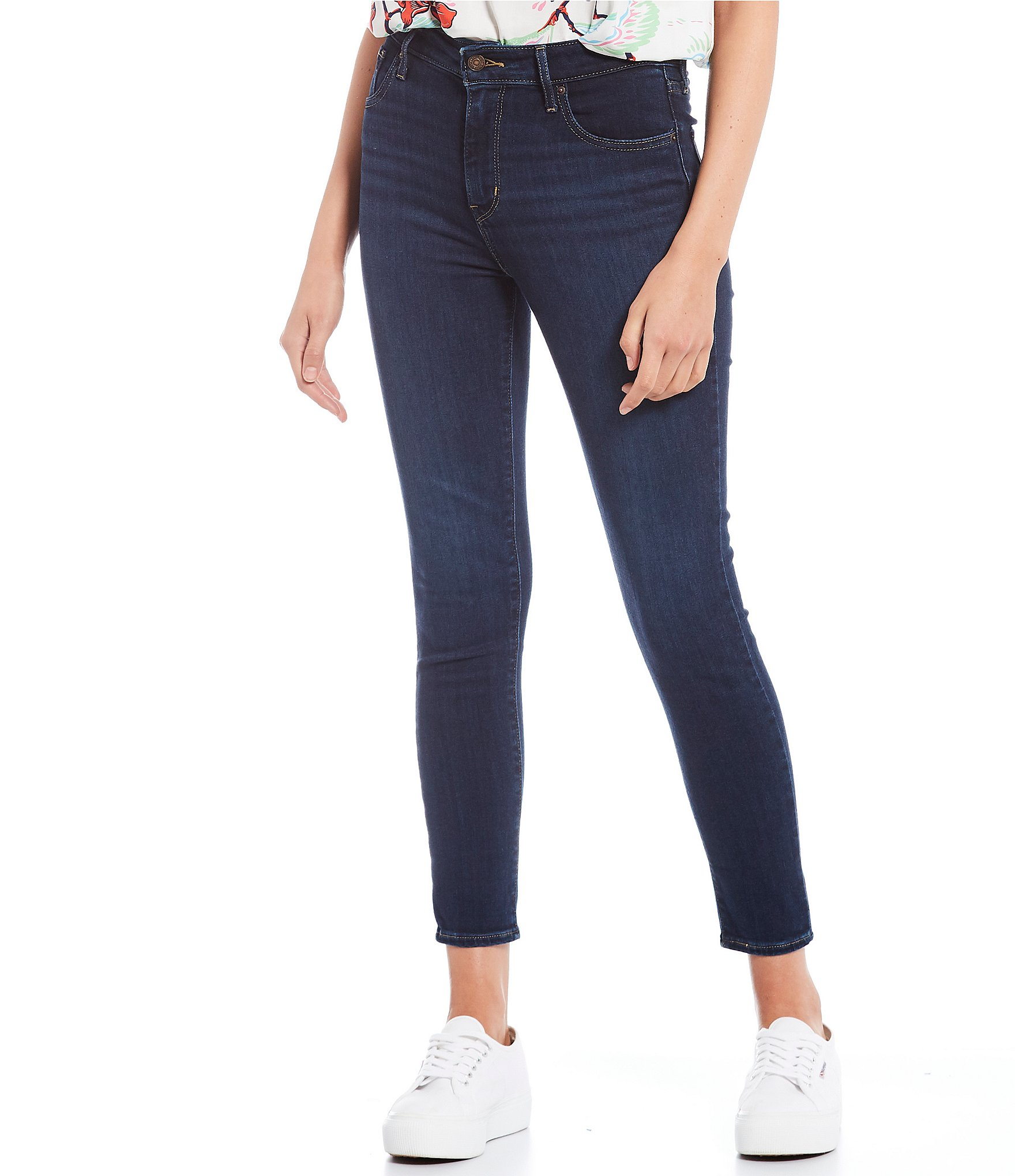 721 High Rise Ankle Skinny Jeans by Levi's