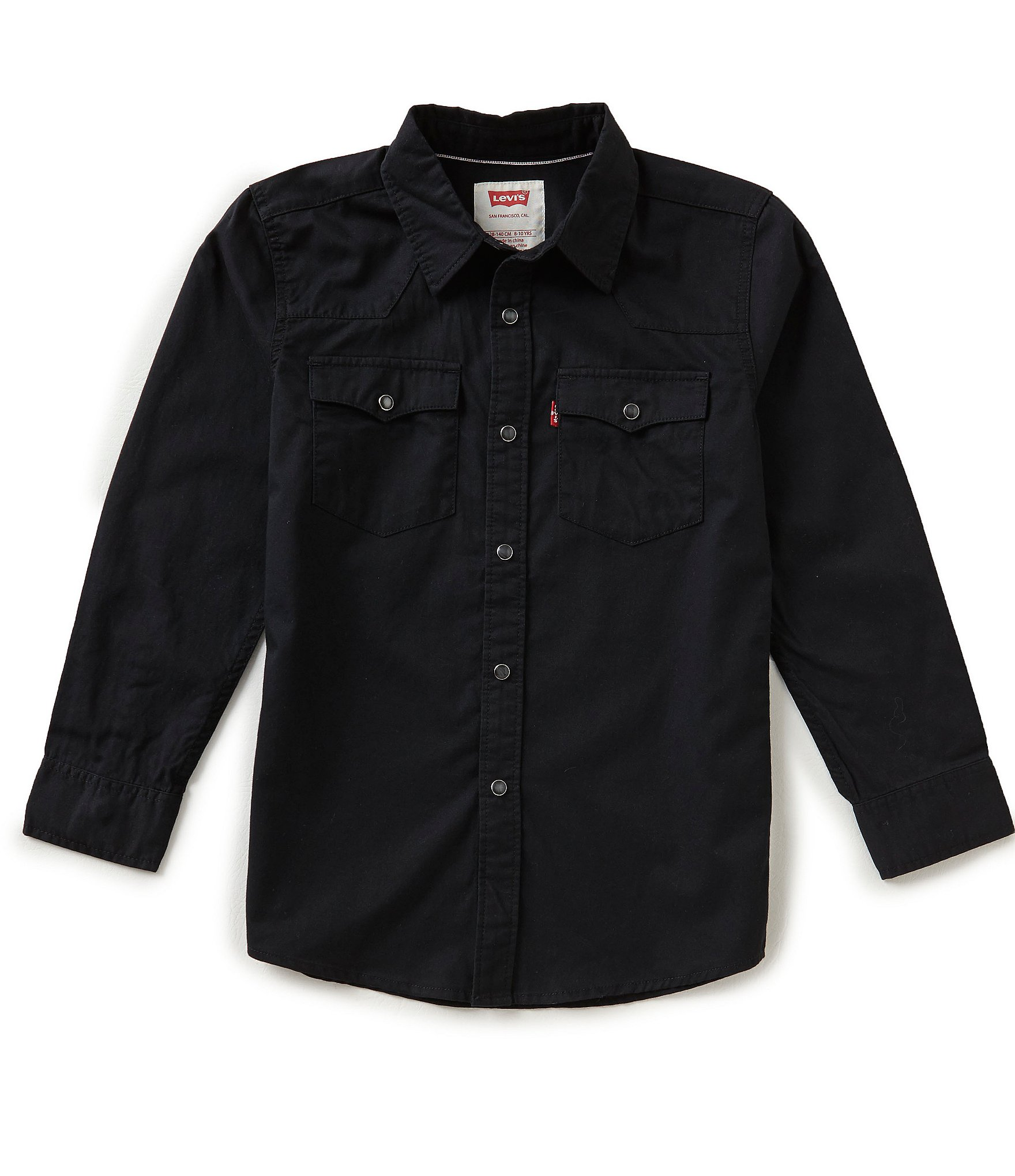 Levi S 8 20 Barstow Western Denim Shirt Dillards