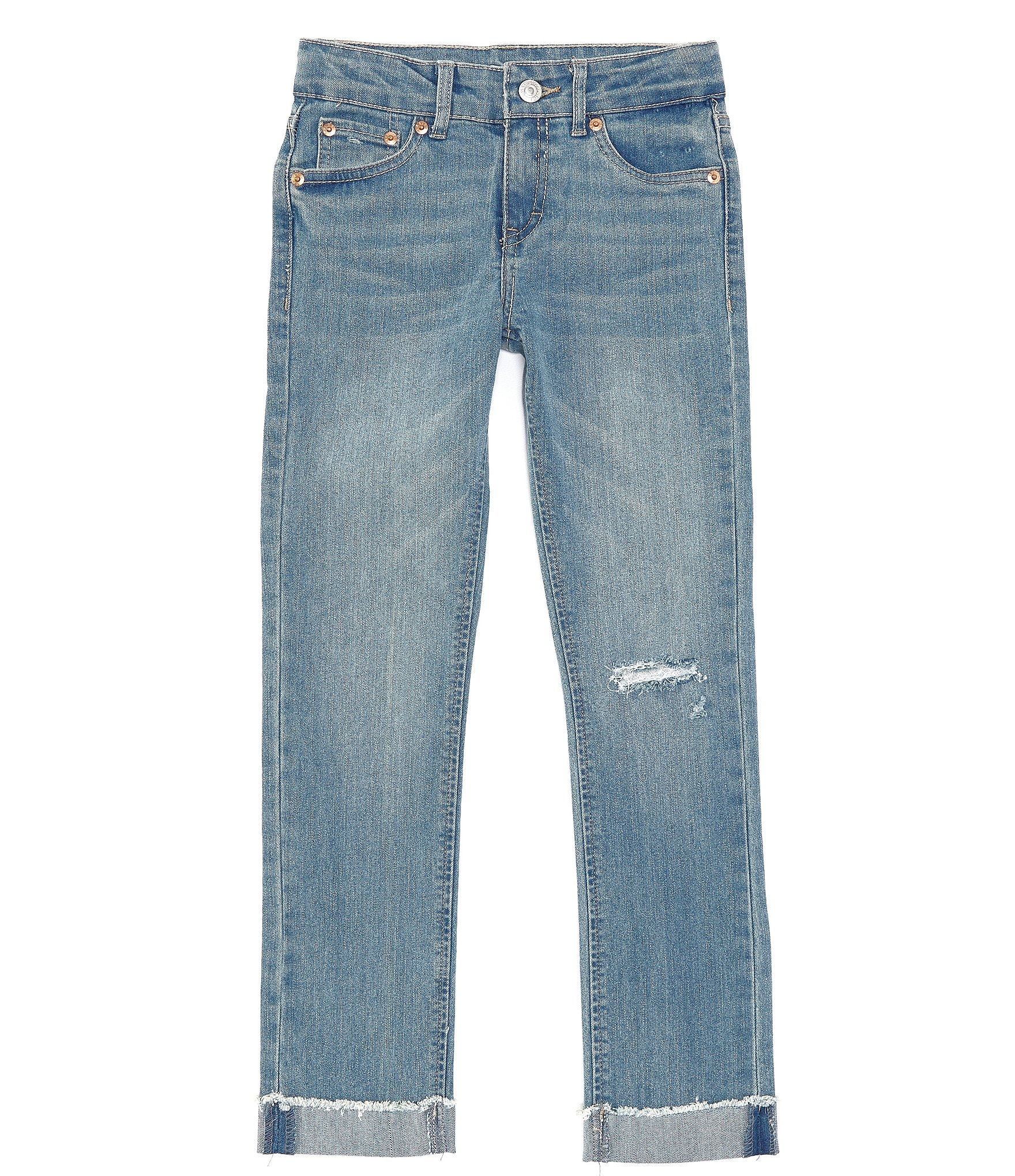 Big Girls 7 16 Girlfriend Denim Jean by Levi's