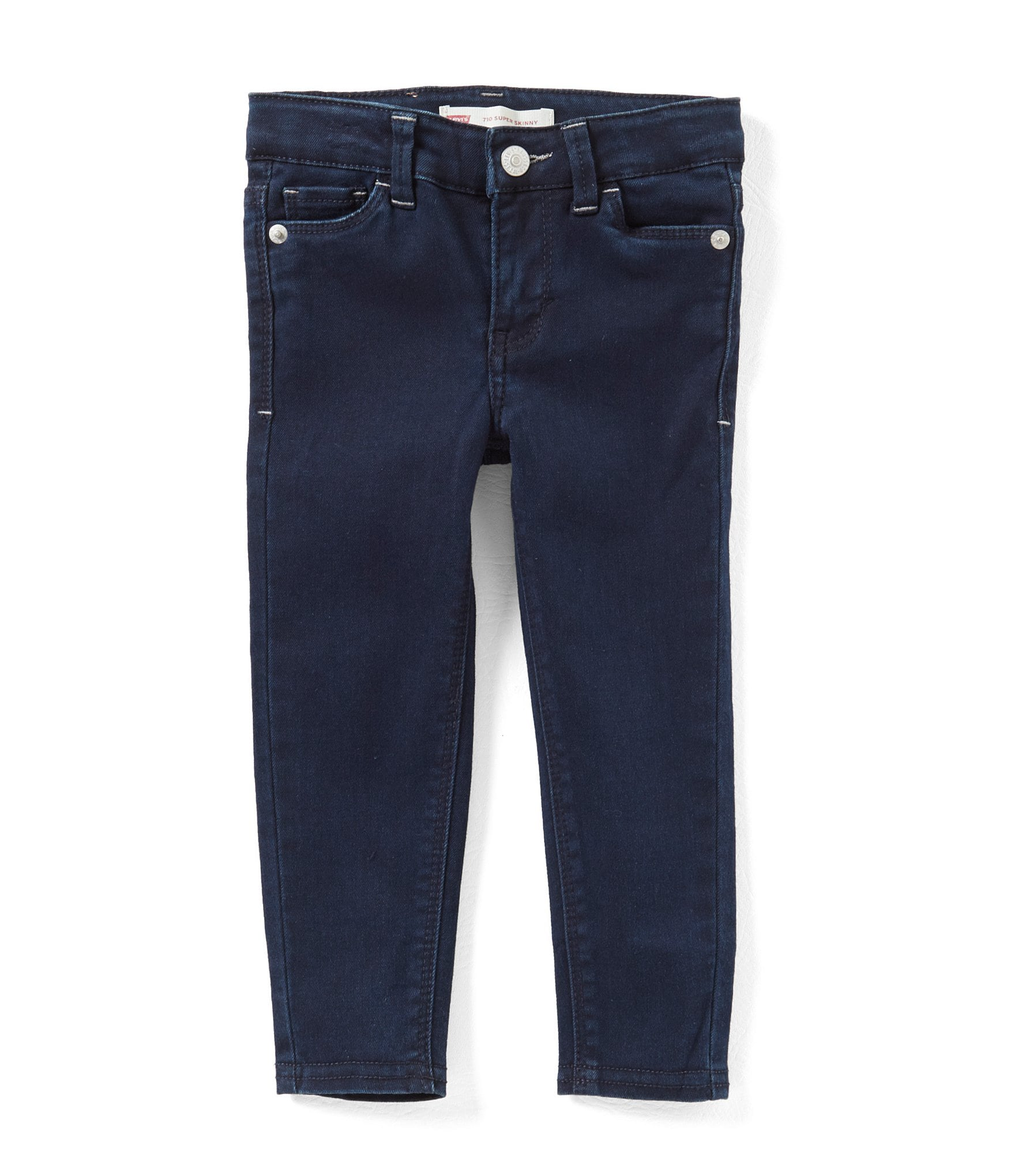 Leviu00b4s Little Girls 2T-6X 710 Star-Embroidered Jeans | Dillards