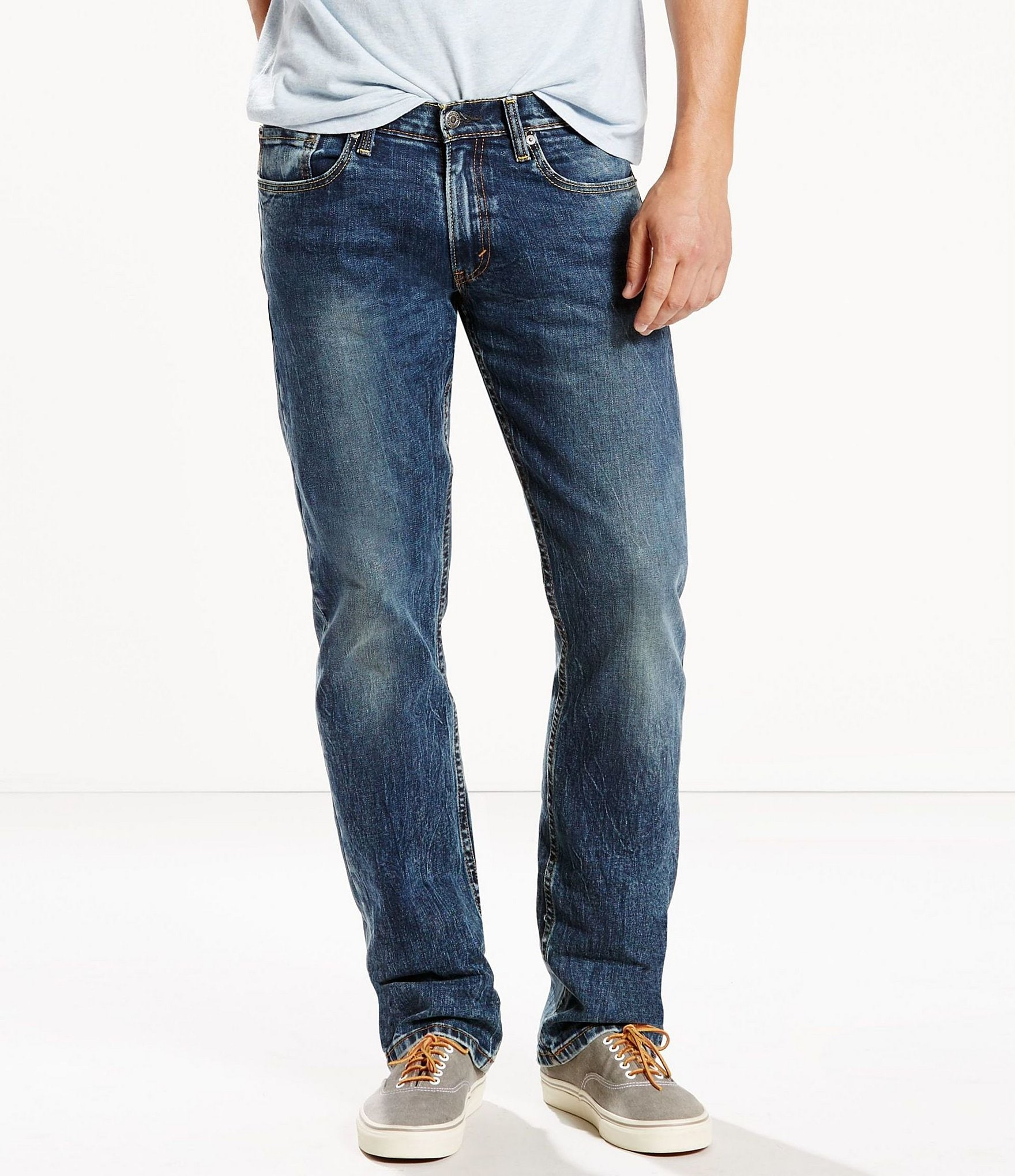 latest fashion cheaper sale best cheap Levi's® Men's 514 Stretch Straight-Fit Jeans | Dillard's