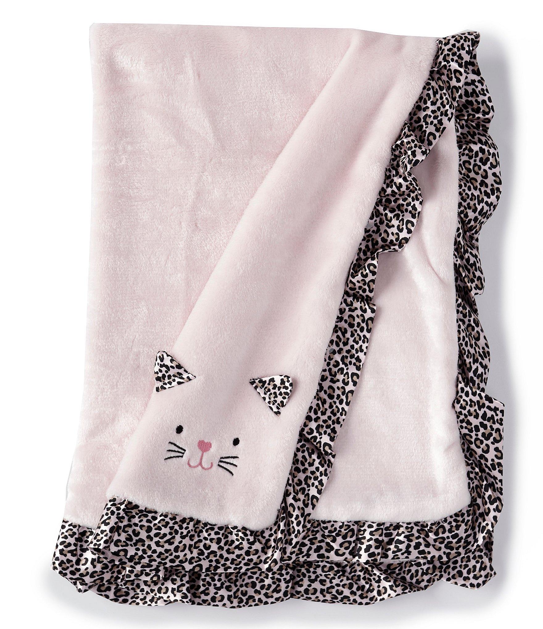 Little Me Baby Girls Leopard Kitten Blanket | Dillard's