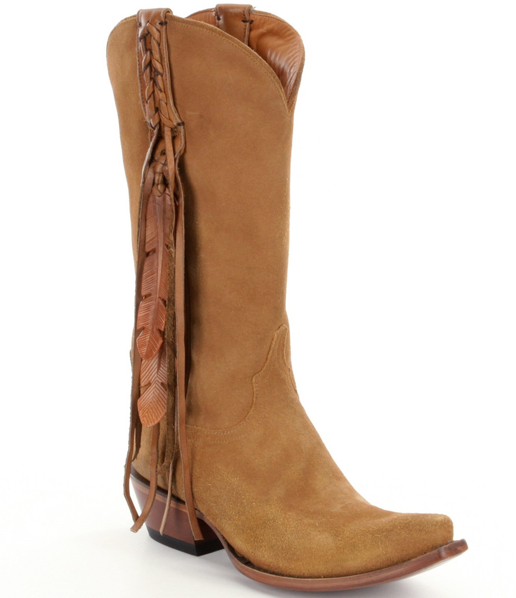 lucchese western boots dillards