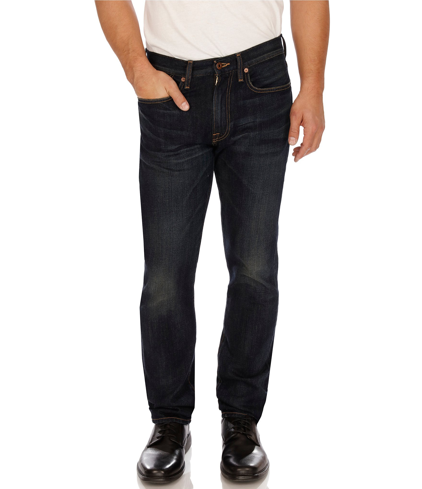 e05ad880a55f Lucky Brand 121 Heritage Slim Jeans