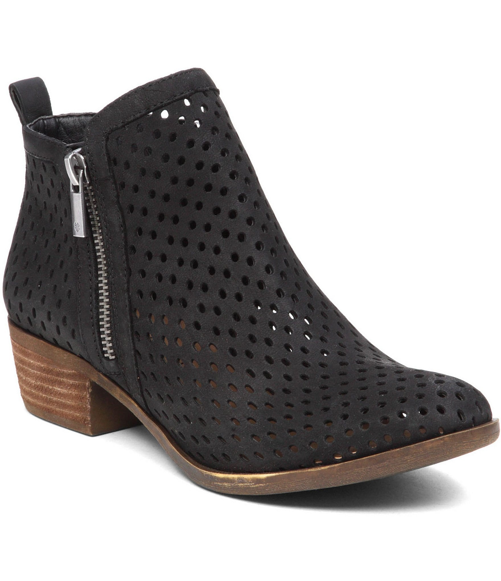 What Is Perforated Leather Shoes