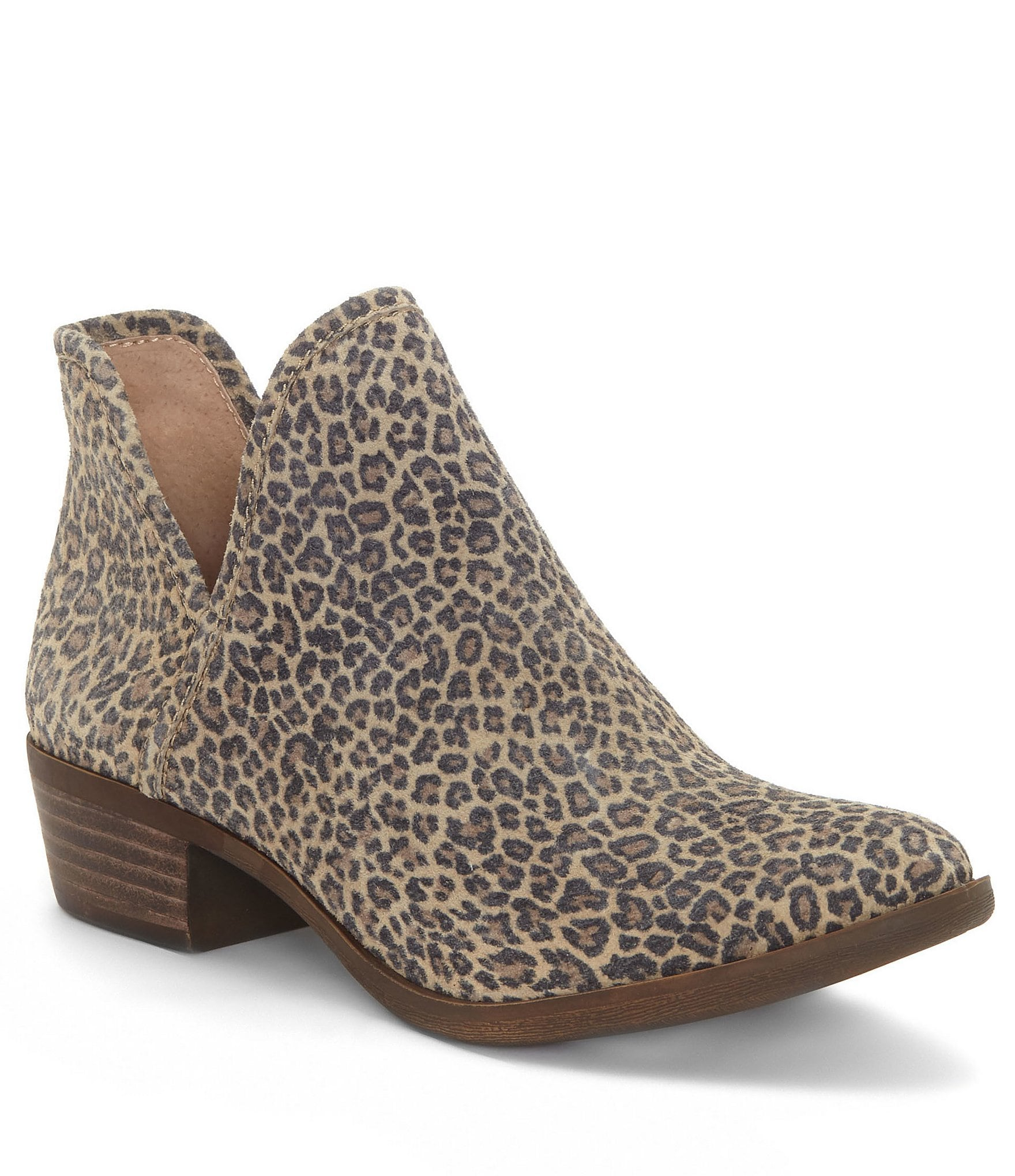 Clarks Leopard Print Shoes