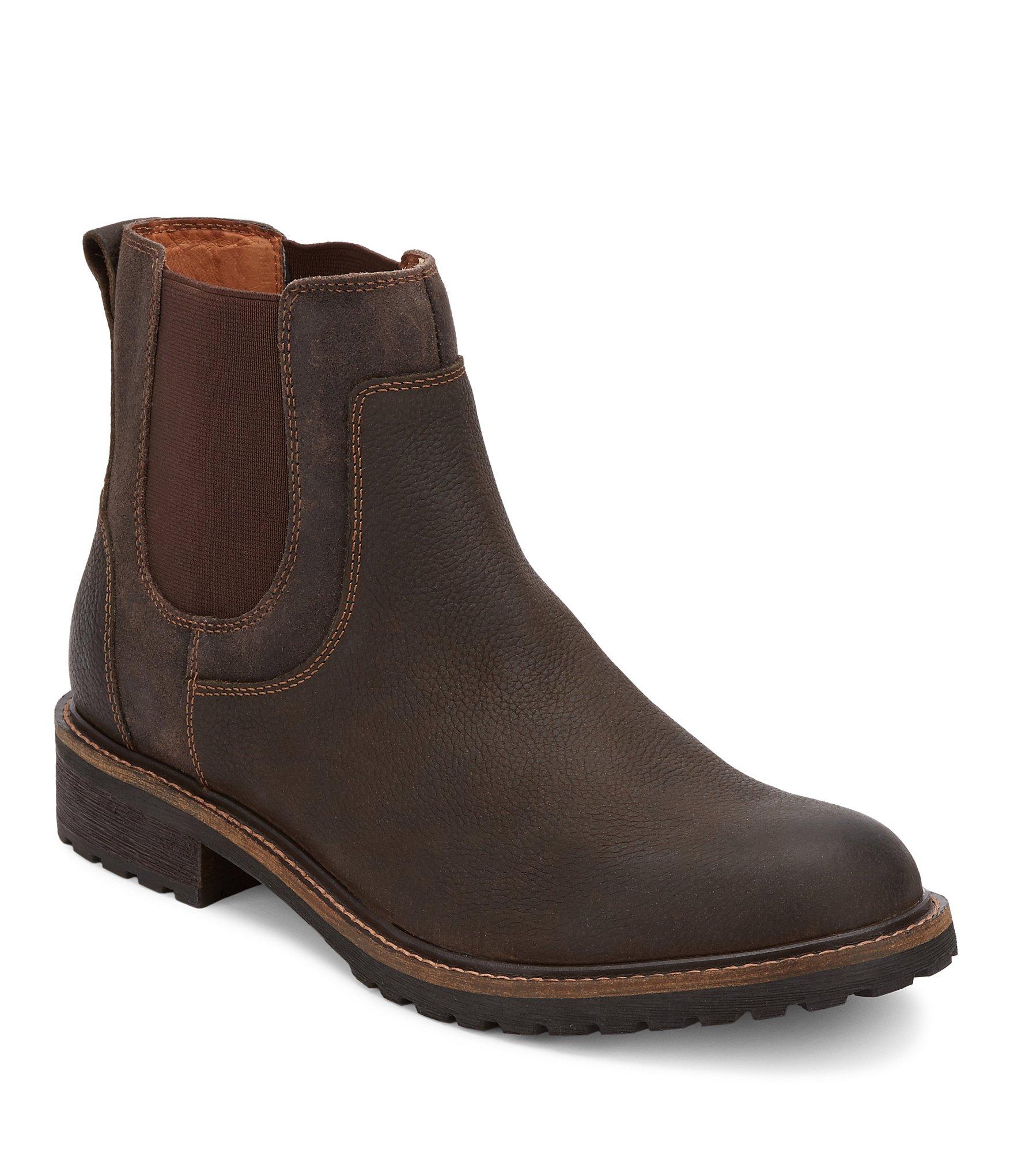 lucky brand 180 s buck chelsea boots dillards