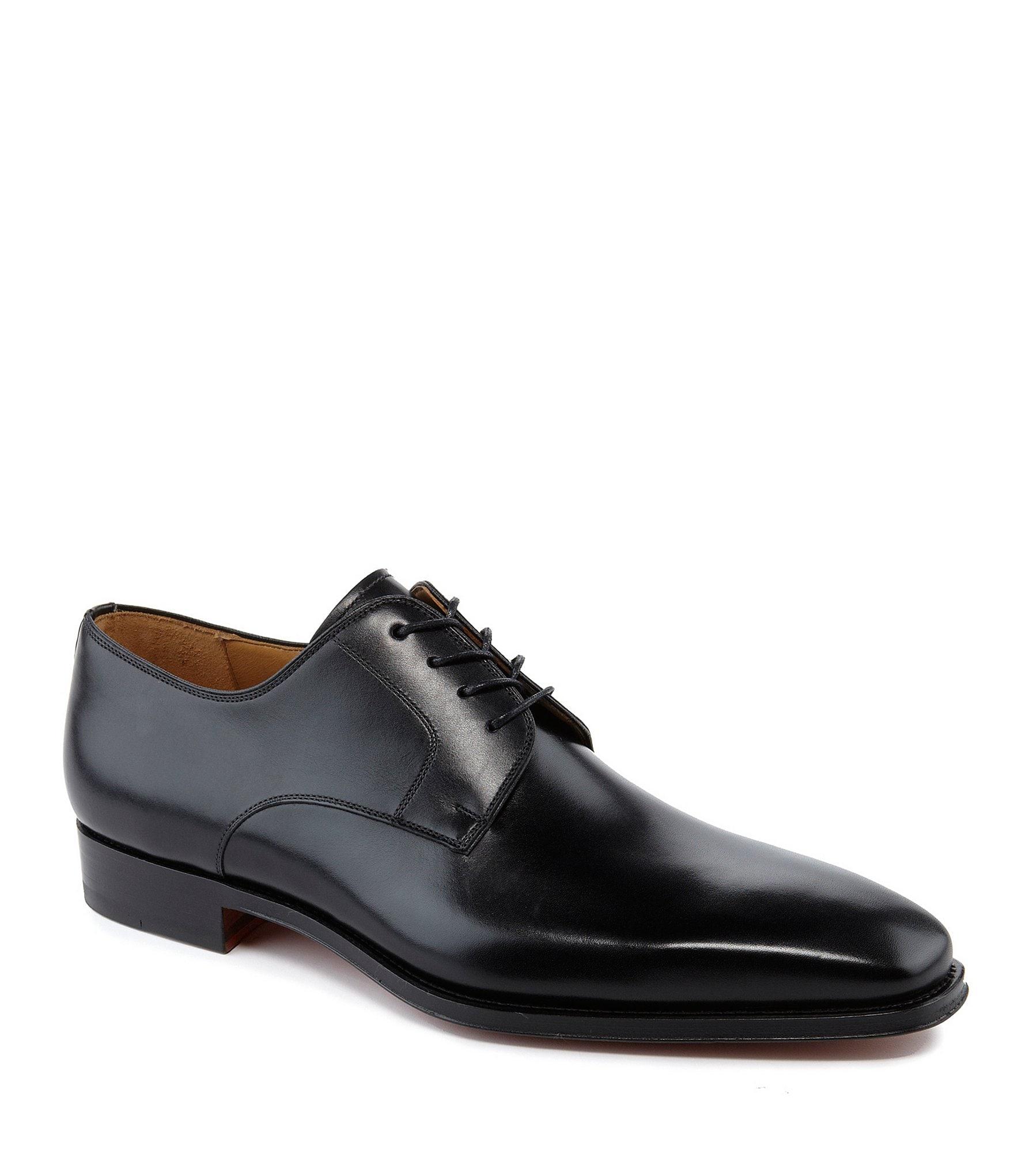magnanni colo plain toe 180 s leather dress shoes dillards