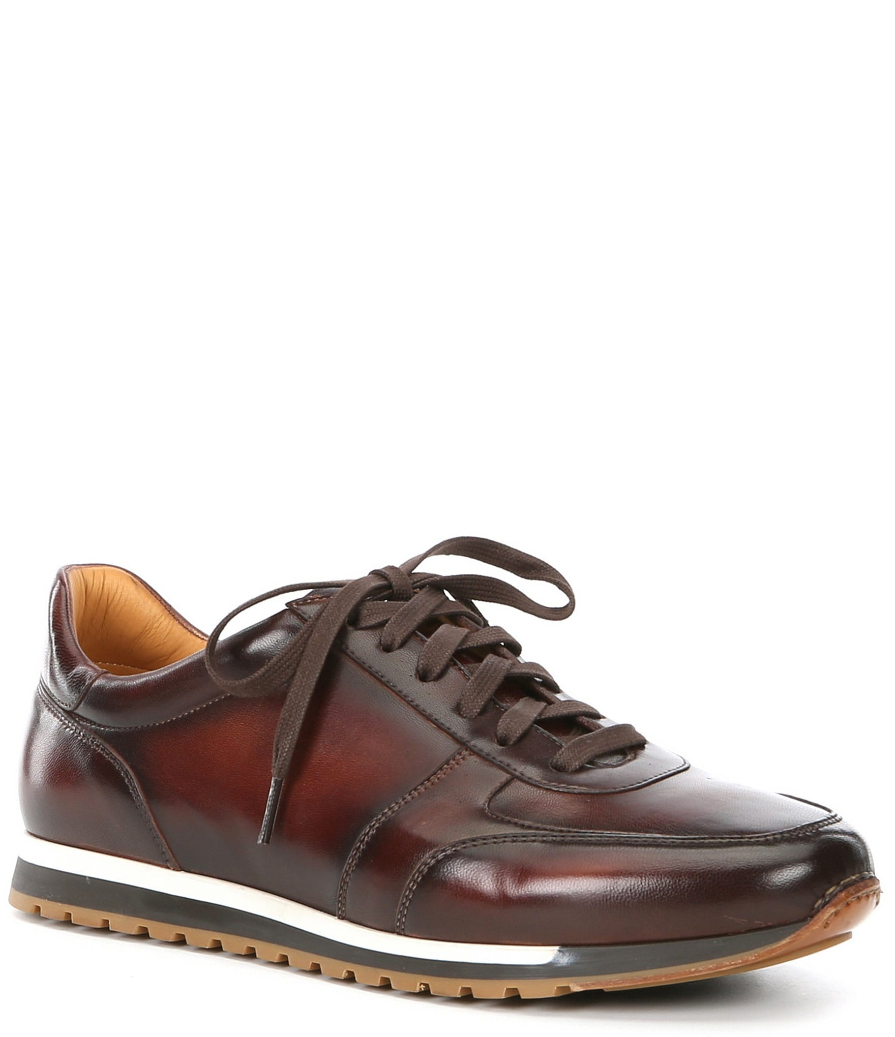 Leather Nico Lace-Up Sneaker