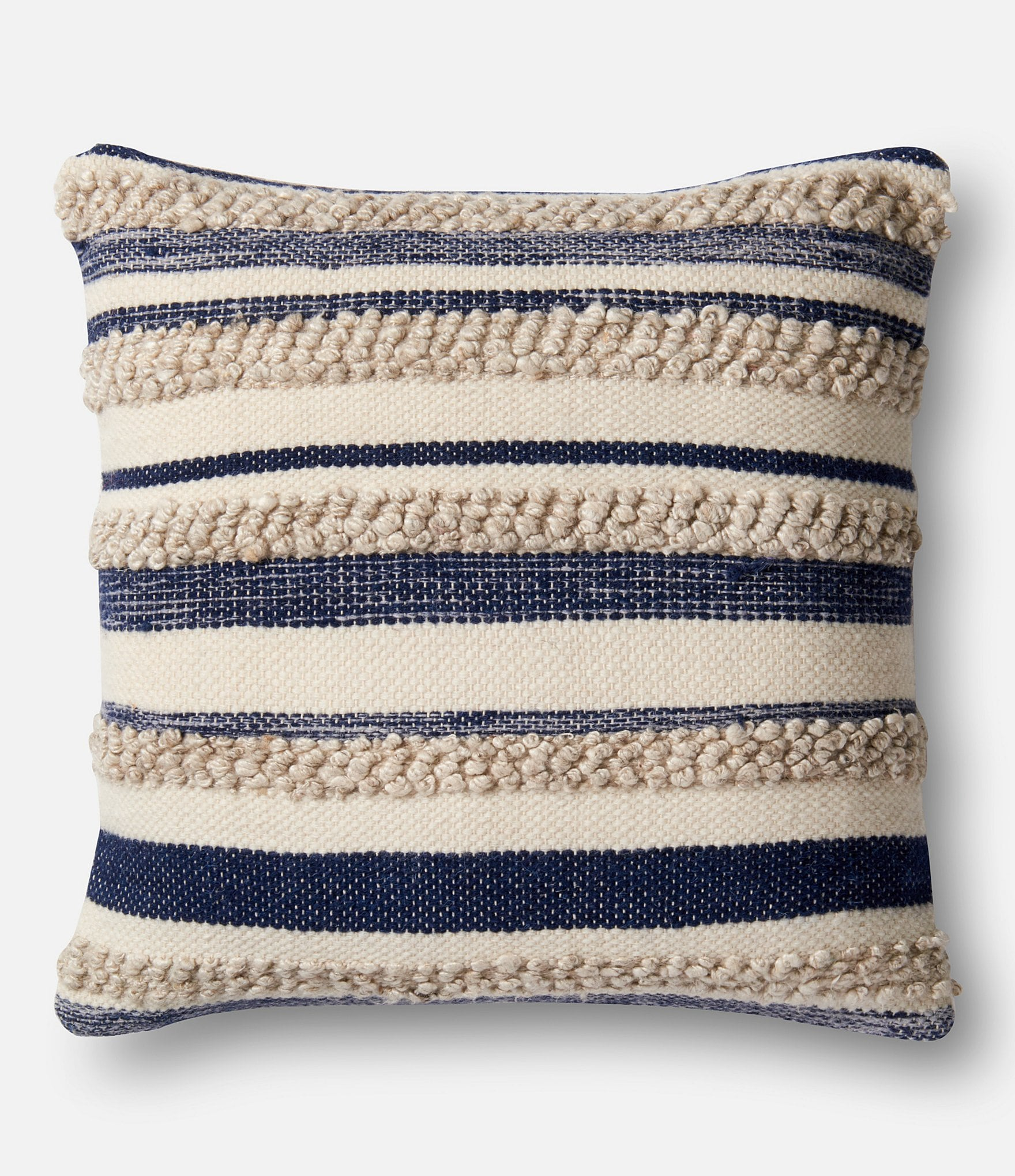 Magnolia home by joanna gaines zander textured striped for Drying feather pillows