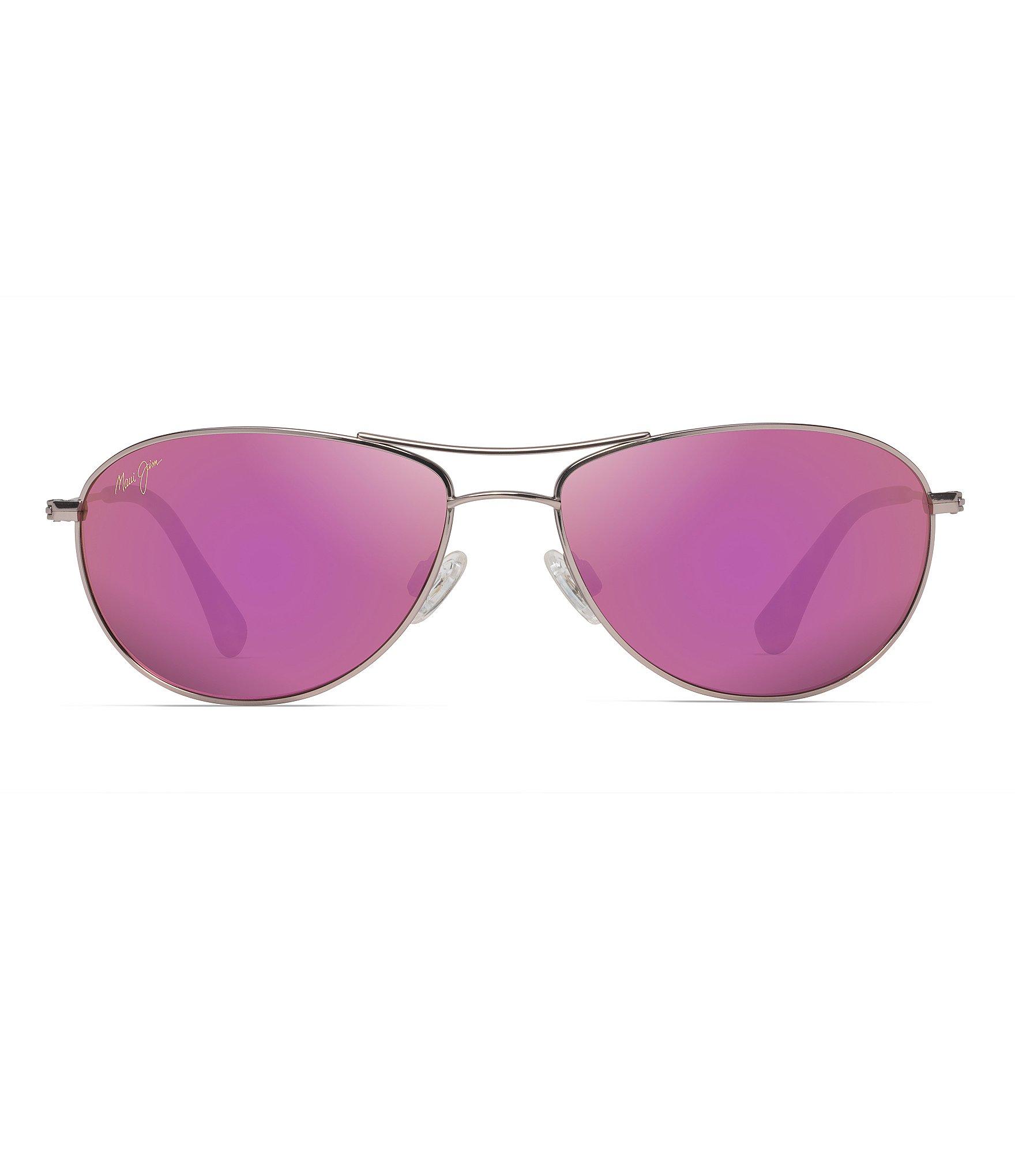 Maui Jim Mirrored Polarized Beach Aviator Baby Sunglasses Qshrdt