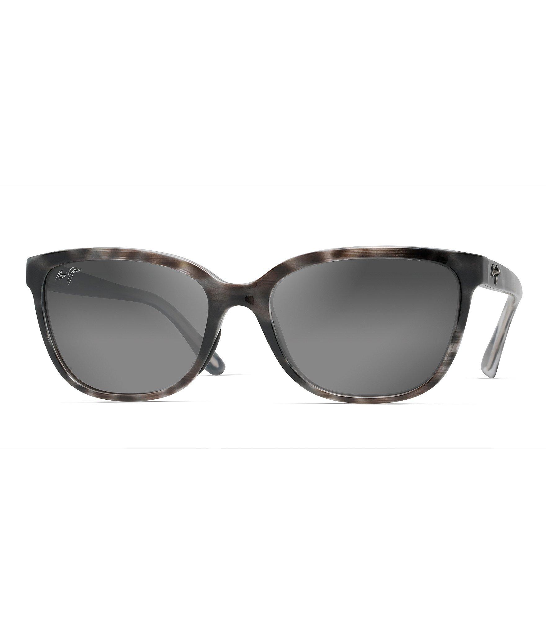 c706bfdb3317 Maui Jim Honi Colorblocked Polarized Cat Eye Sunglasses | Dillard's