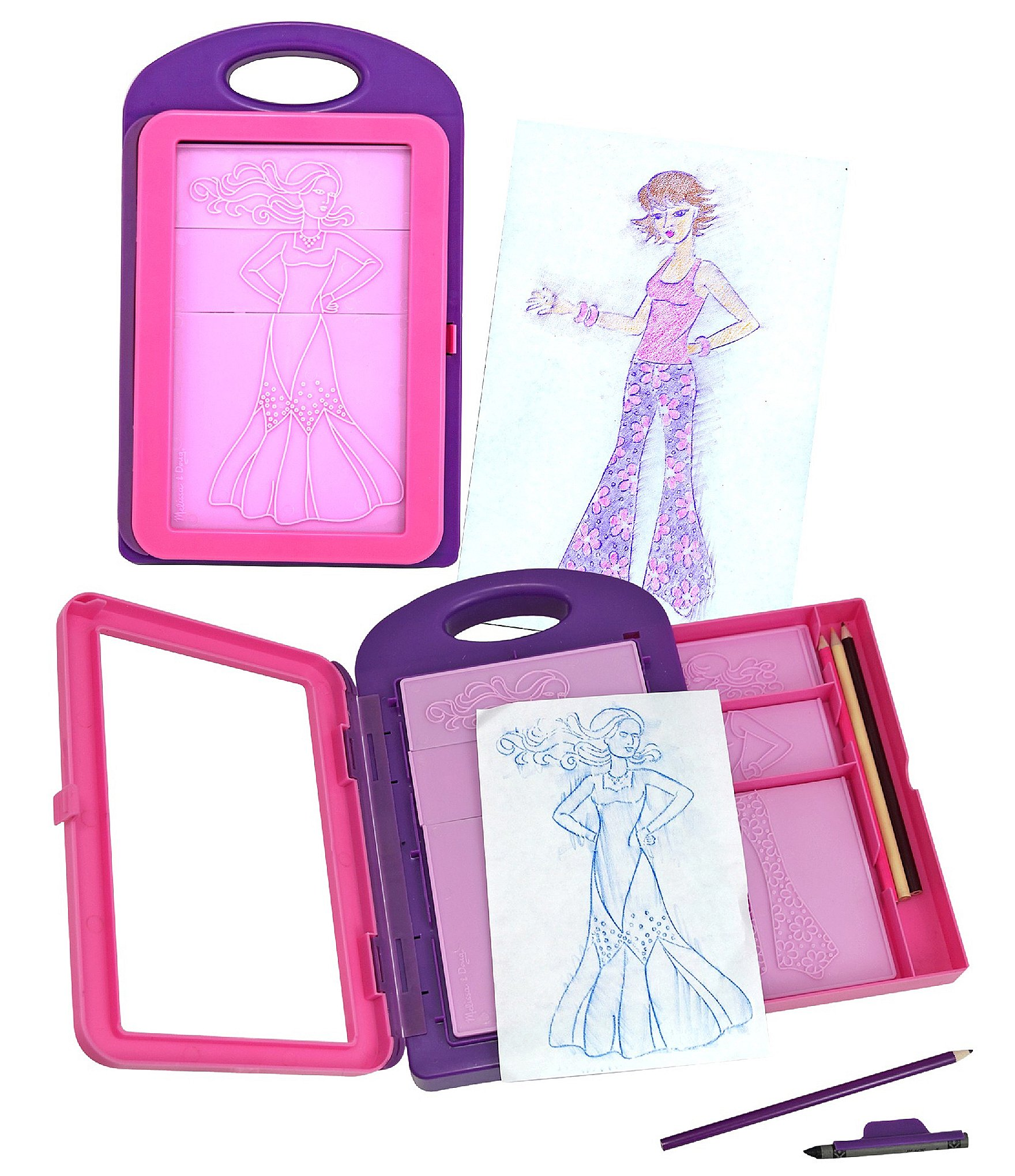 Melissa Doug Fashion Design Activity Kit Dillard S