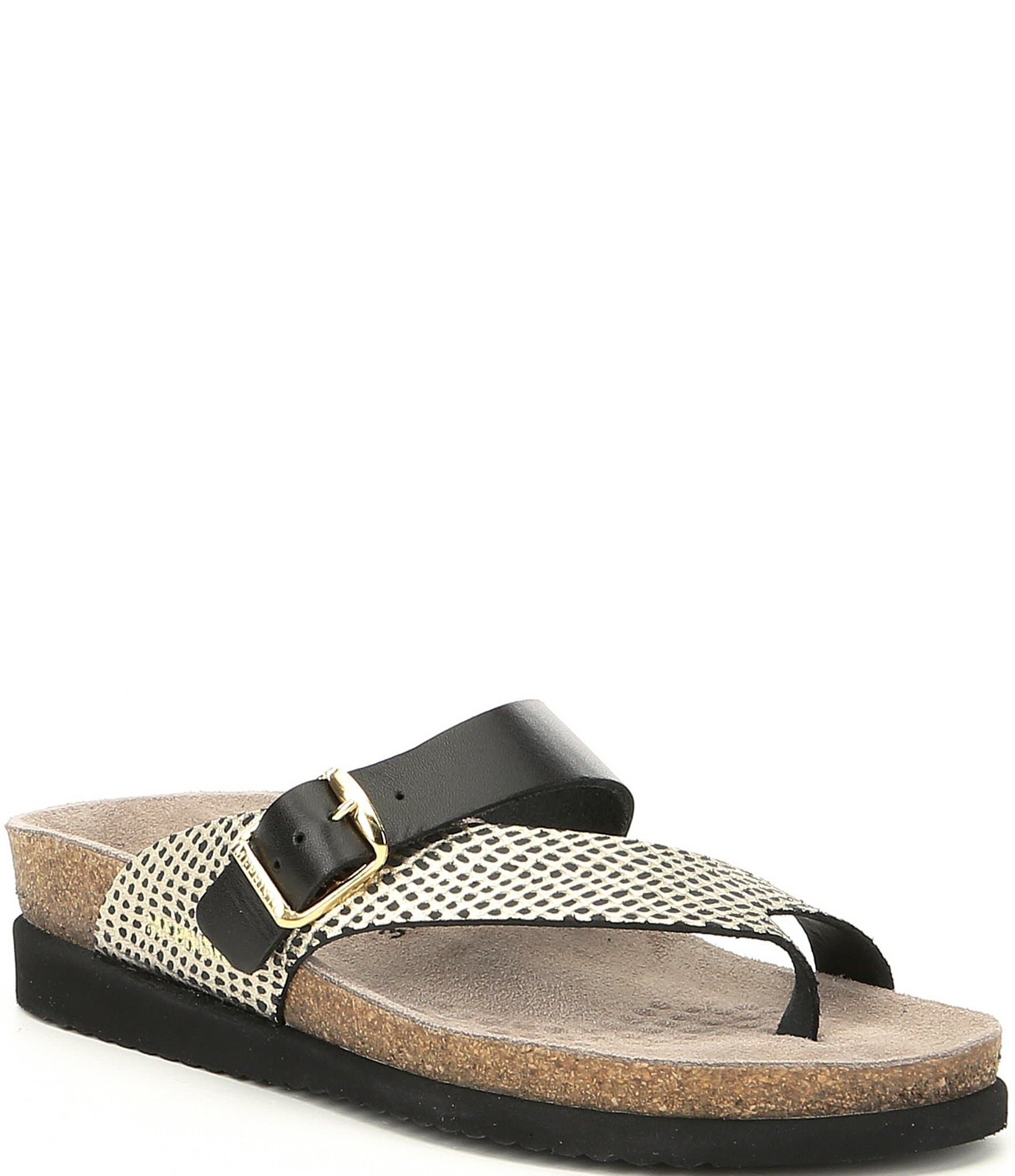 8314846a4560 Mephisto Helen Mix Footbed Thong Sandals