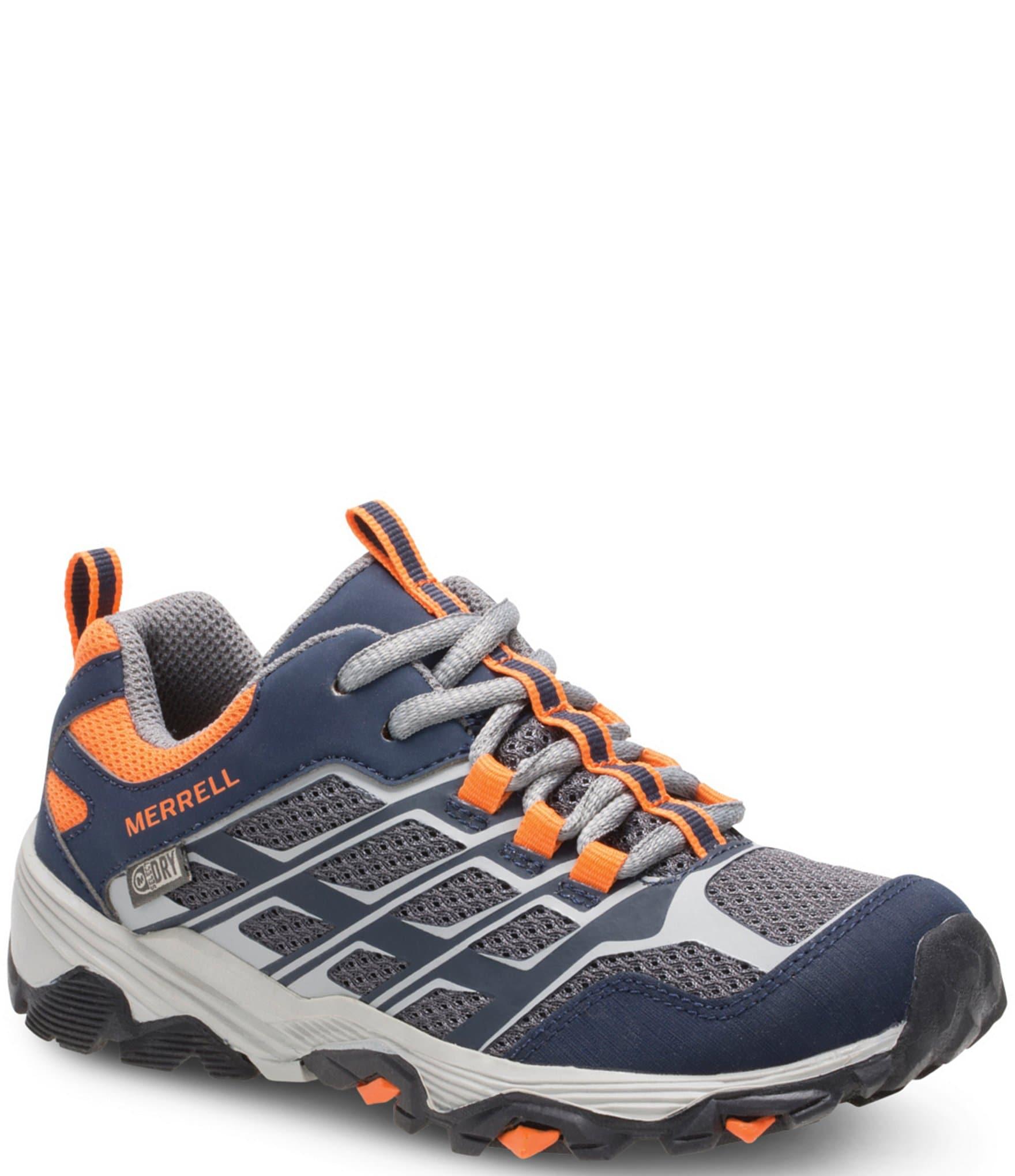 8615a3cf966 Merrell Boys' Moab Low Waterproof Sneaker
