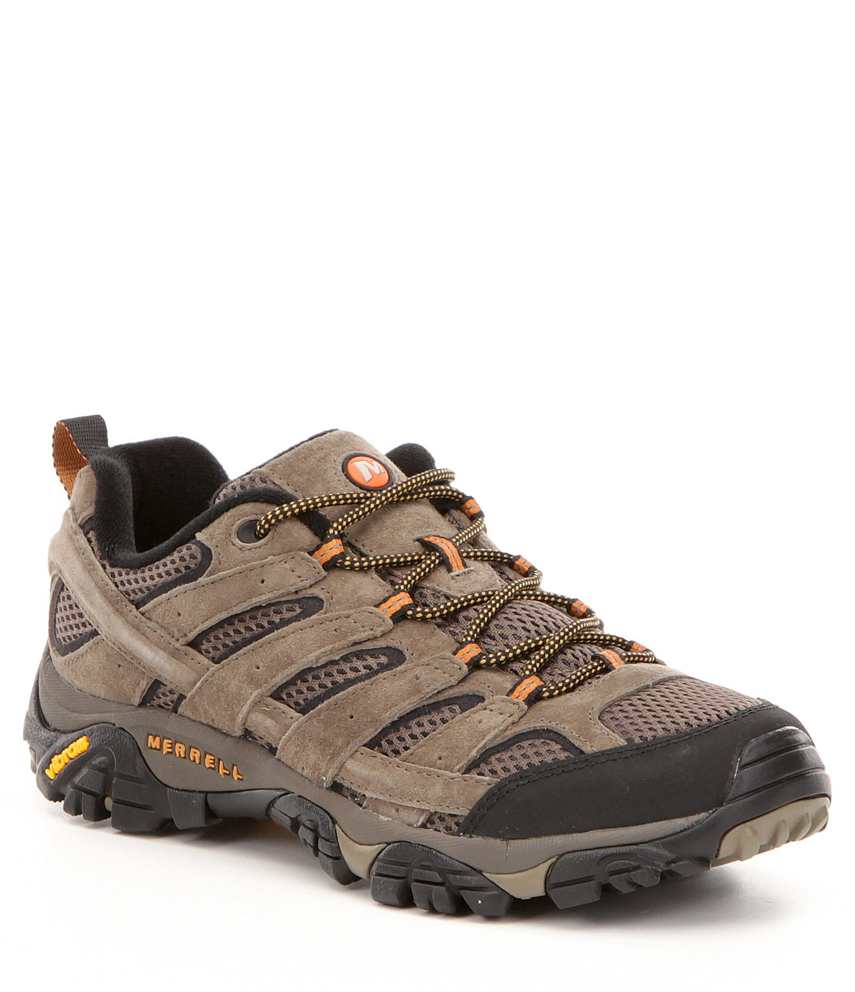 Suede \u0026 Mesh Lace-Up Hiking Shoes
