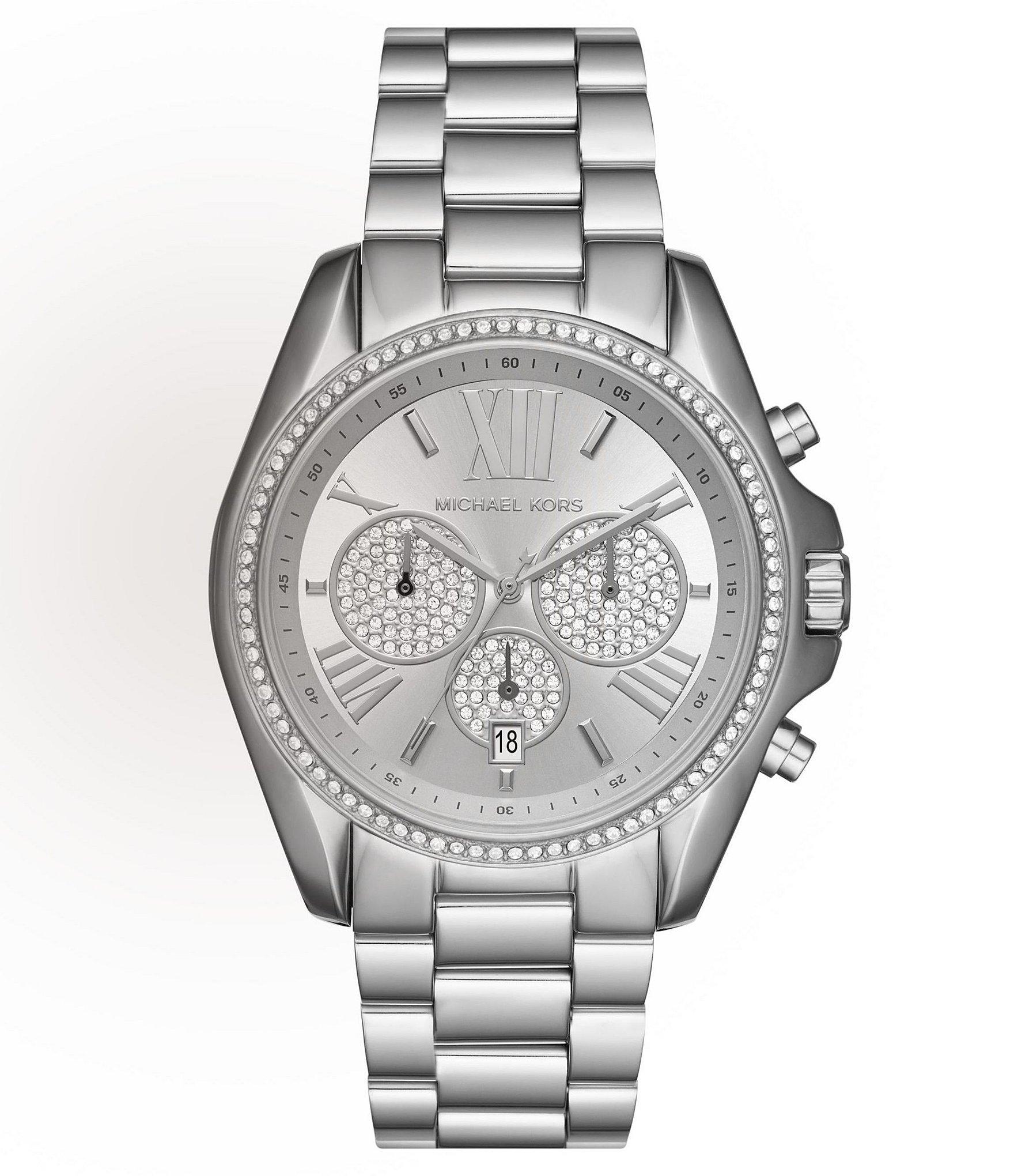 michael kors bradshaw pav 233 chronograph date bracelet