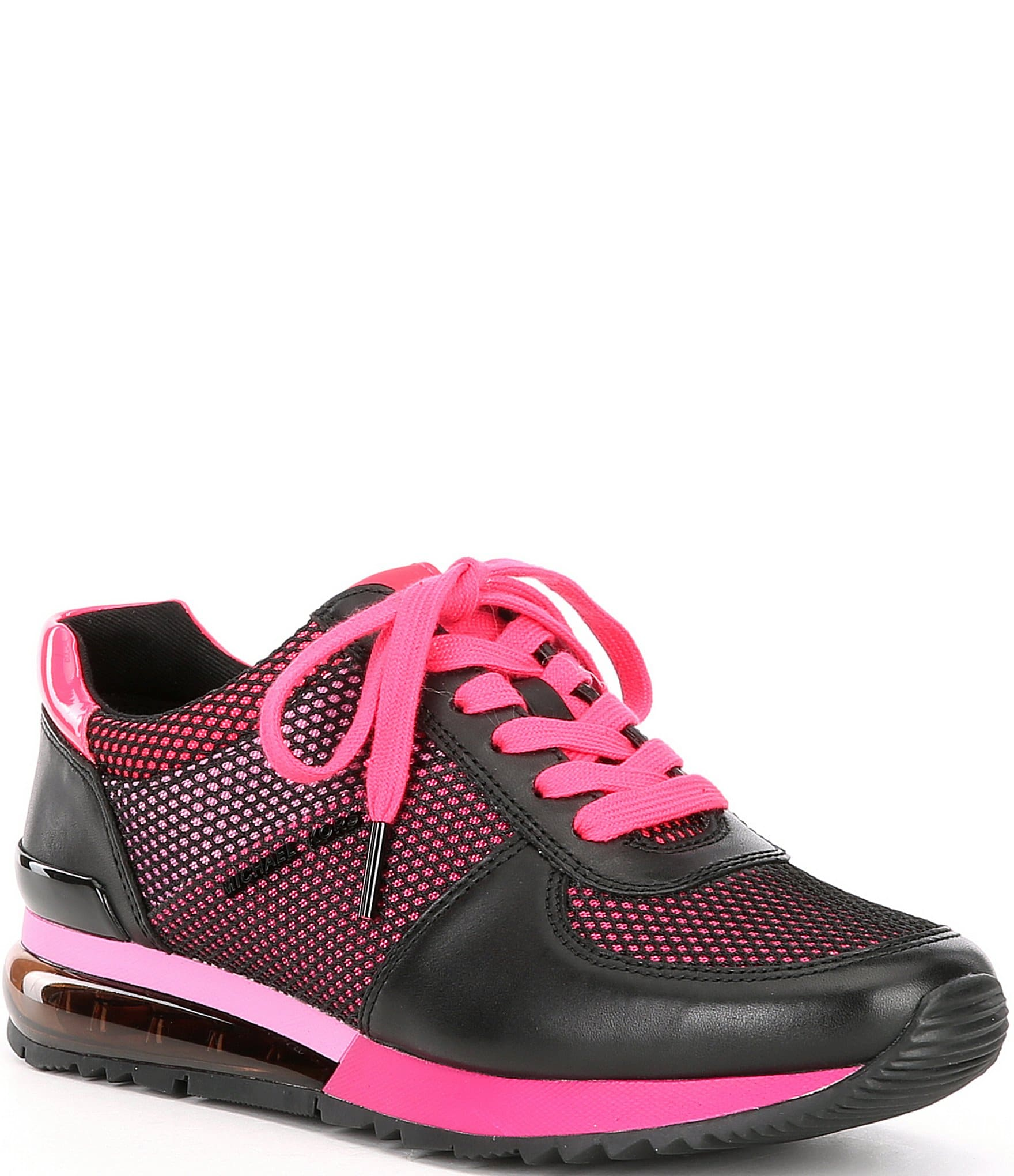michael kors leather trainers