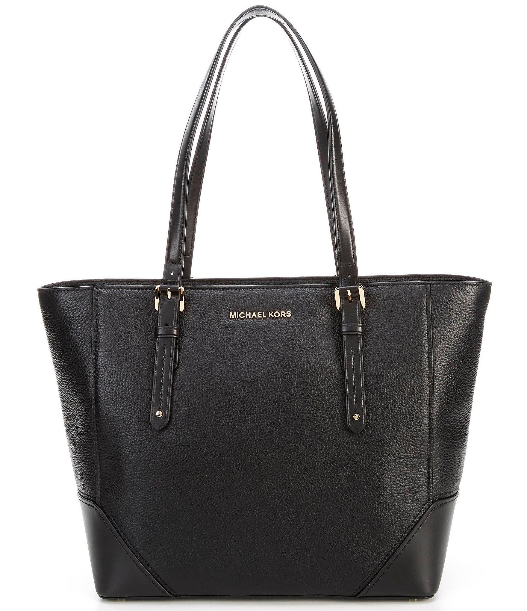 MICHAEL Michael Kors Aria Leather Large Tote Bag | Dillard's