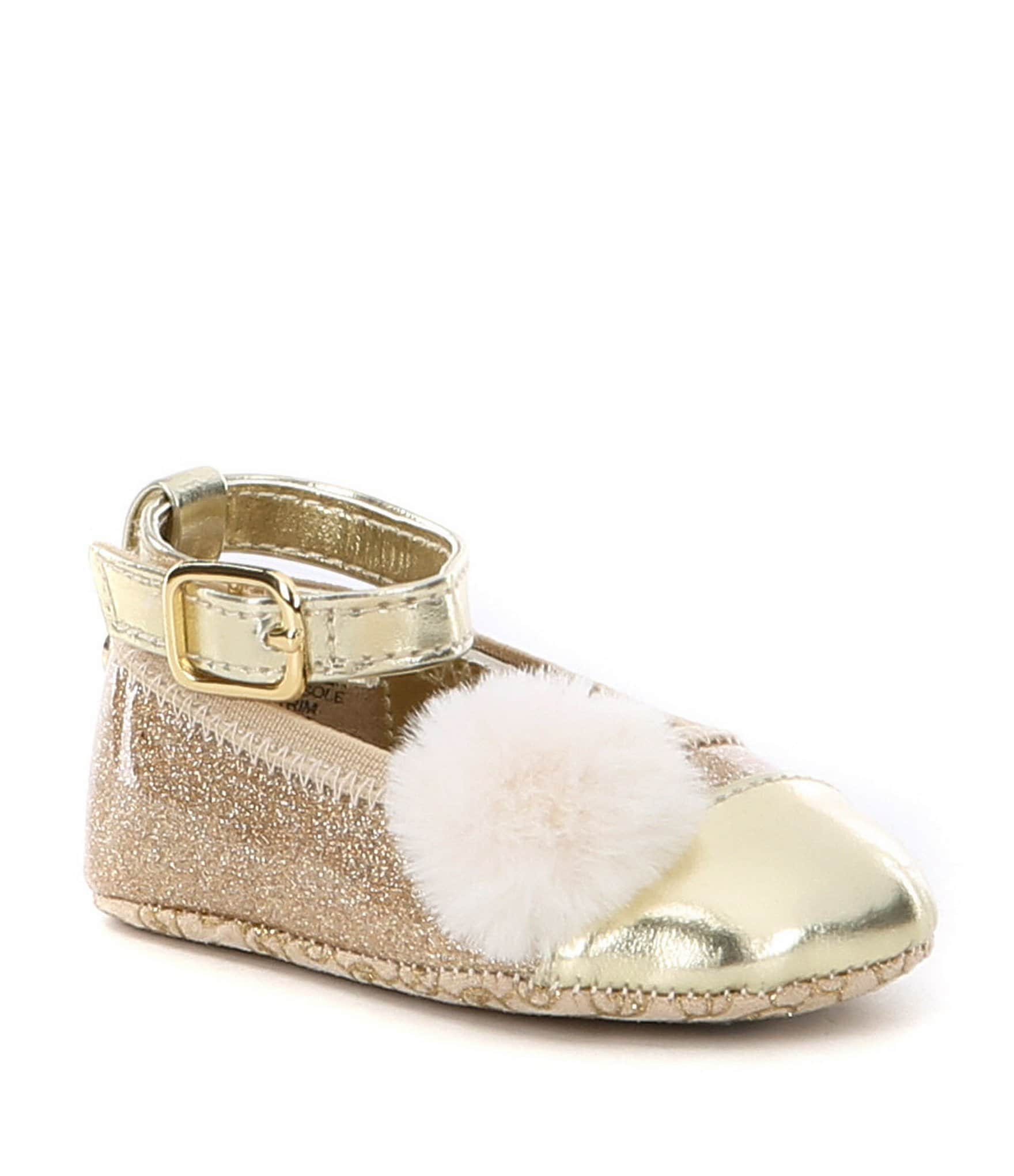 MICHAEL Michael Kors Baby Girls Lucy Ballerina Crib Shoes