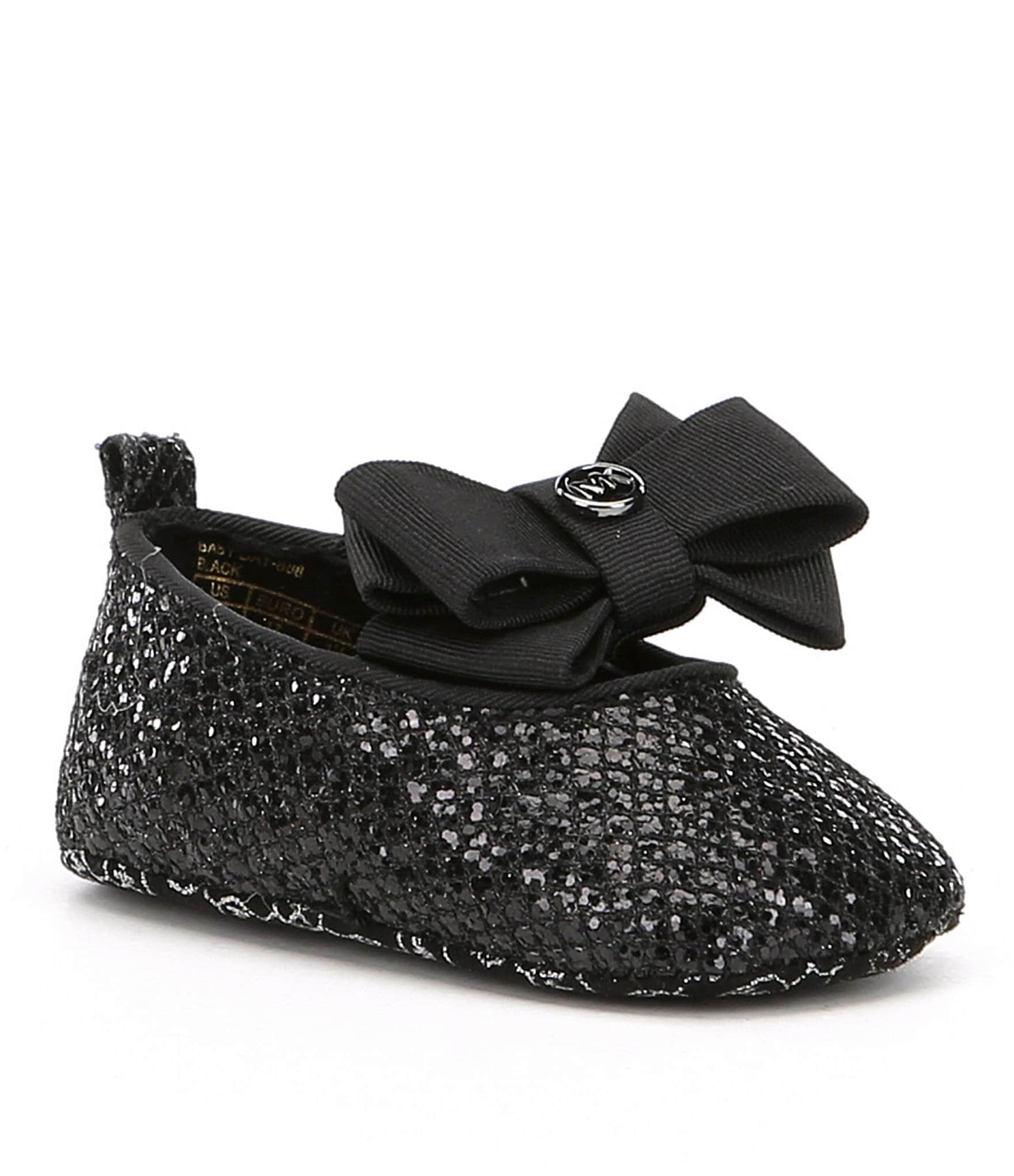 MICHAEL Michael Kors Girls Baby Day Sparkle Ballet Bow
