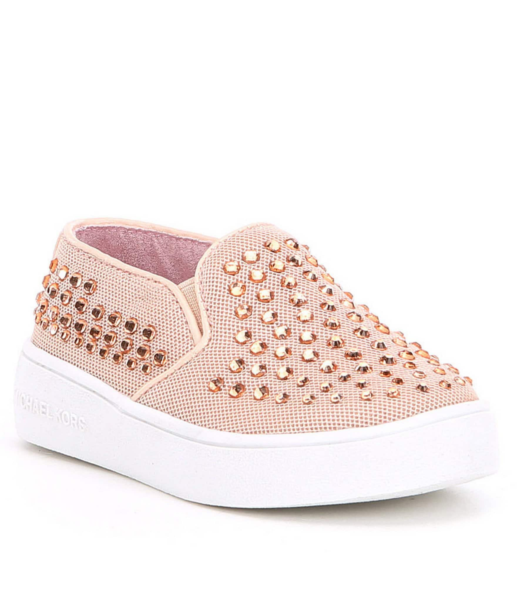 Michael Kors Girls Ivy Meadow Slip Sneakers