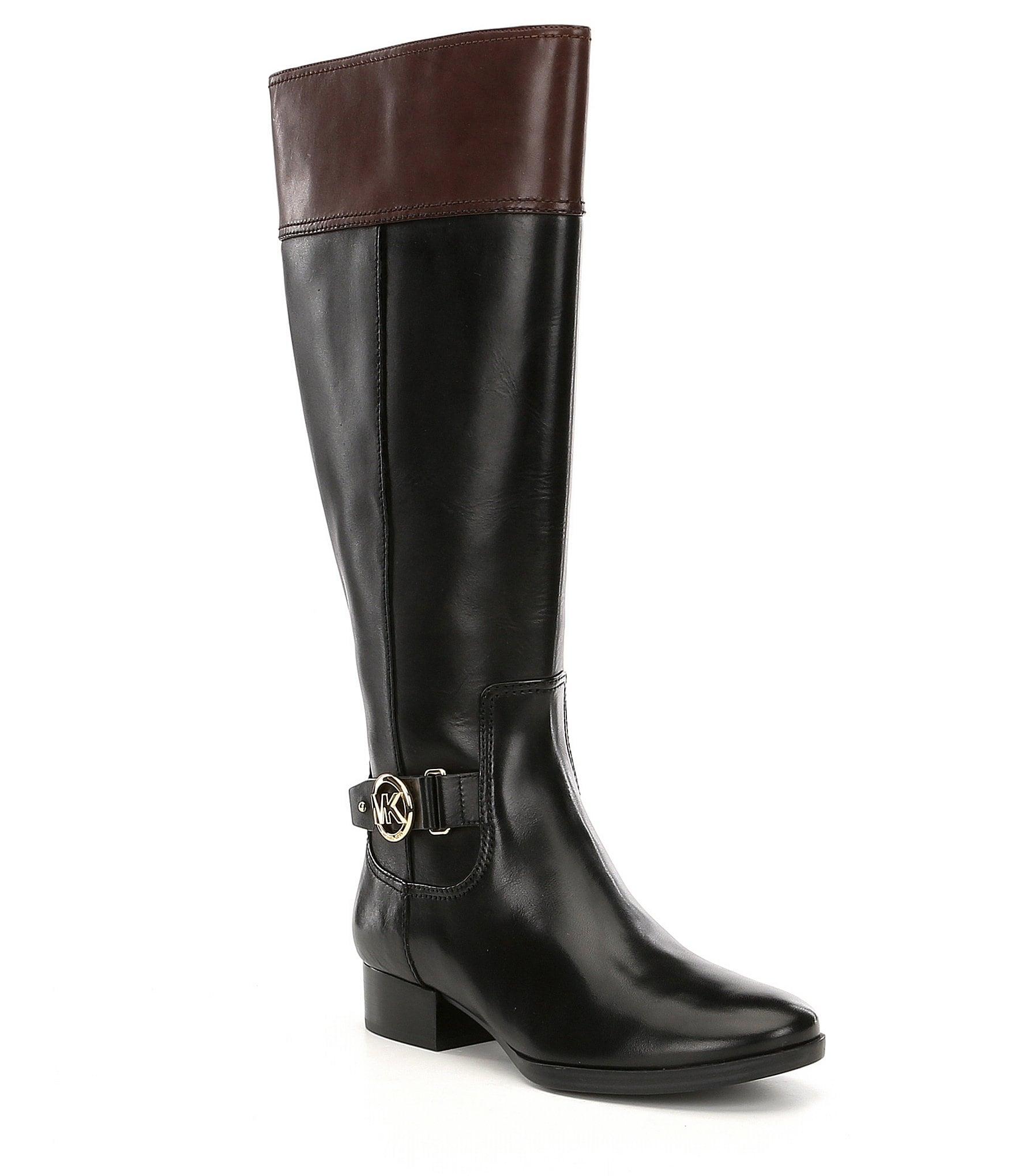 michael michael kors harland wide calf boots dillards