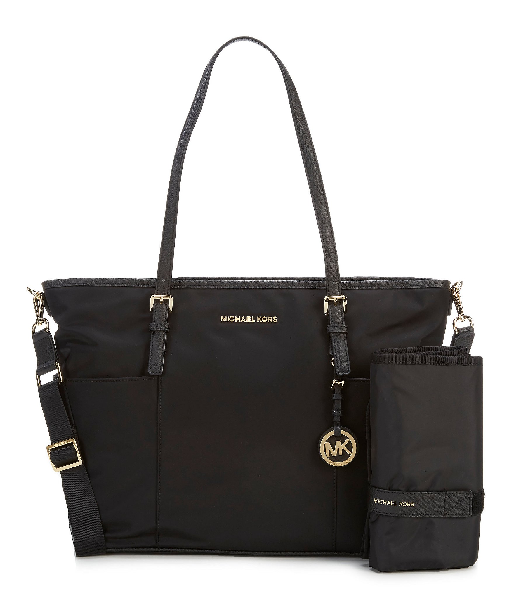 michael michael kors jet set large pocket diaper bag dillards. Black Bedroom Furniture Sets. Home Design Ideas
