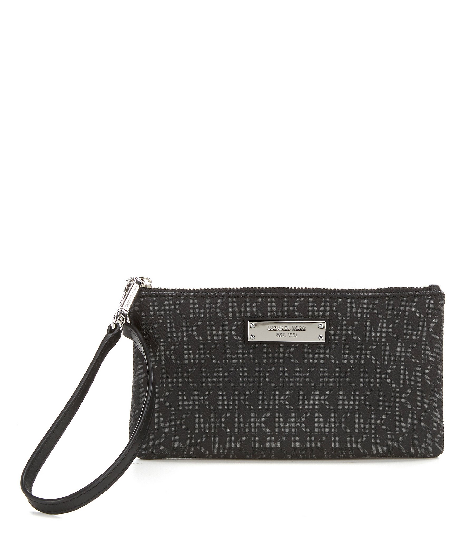 Circle Track Supply >> MICHAEL Michael Kors Jet Set Signature Medium Wristlet ...