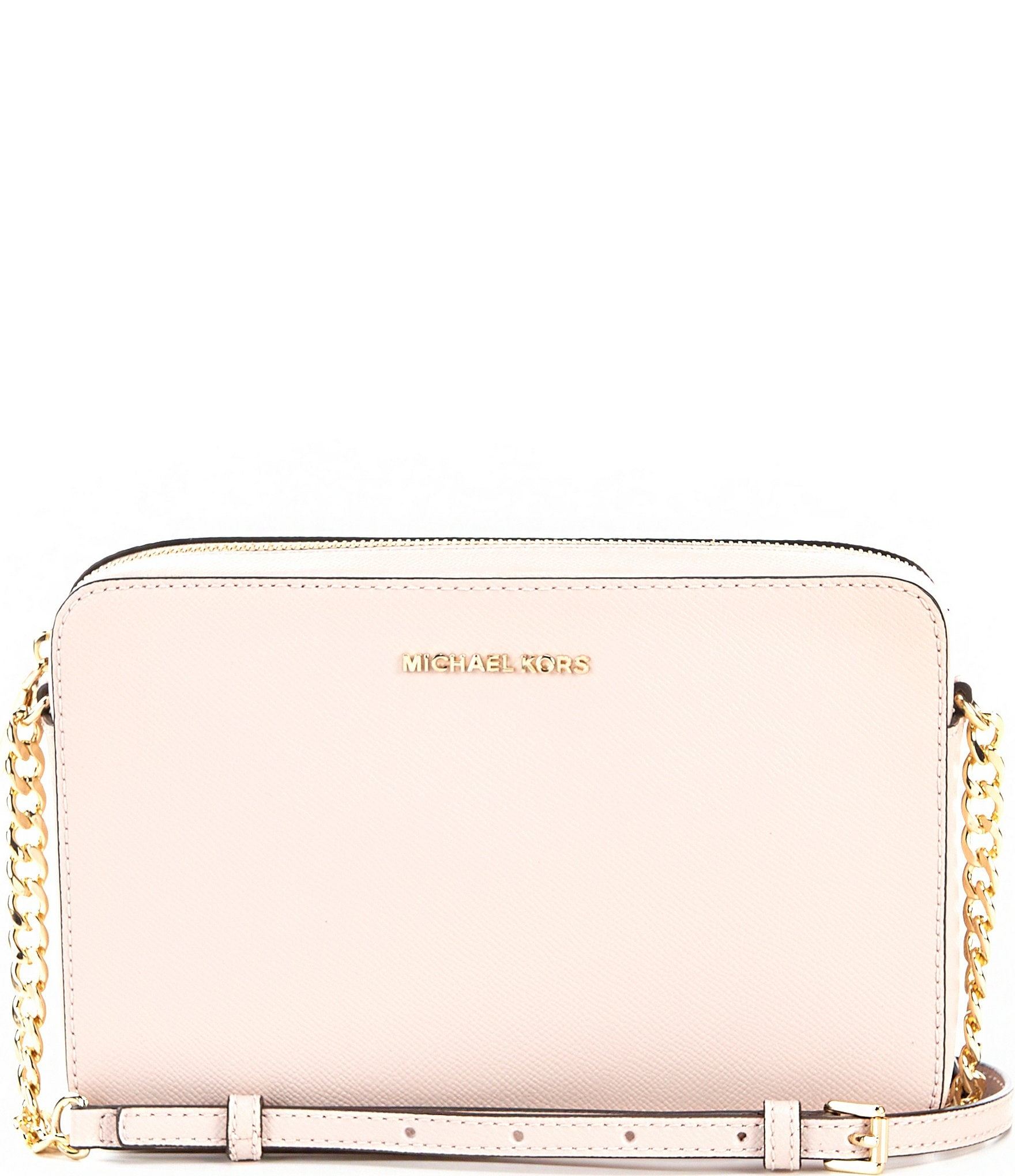 fine quality top design variety design MICHAEL Michael Kors Jet Set Travel Large East/West Chain Strap Crossbody  Bag