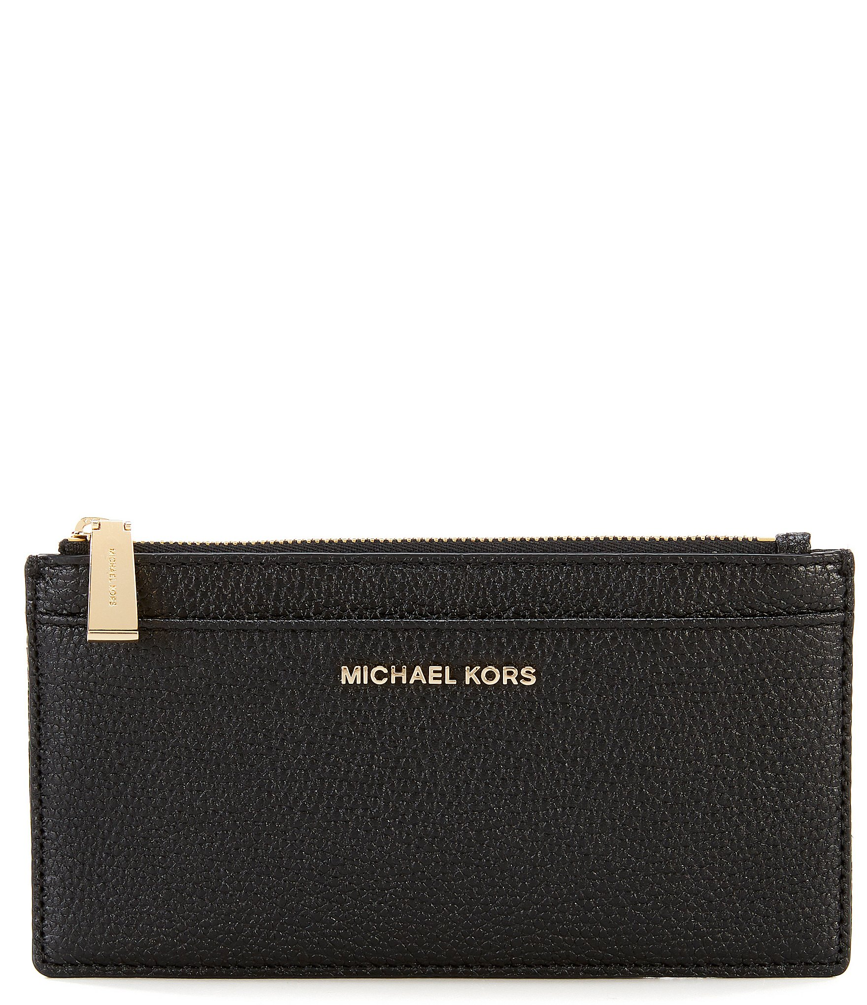 new arrival 9c116 63627 MICHAEL Michael Kors Large Leather Slim Card Case | Dillard's