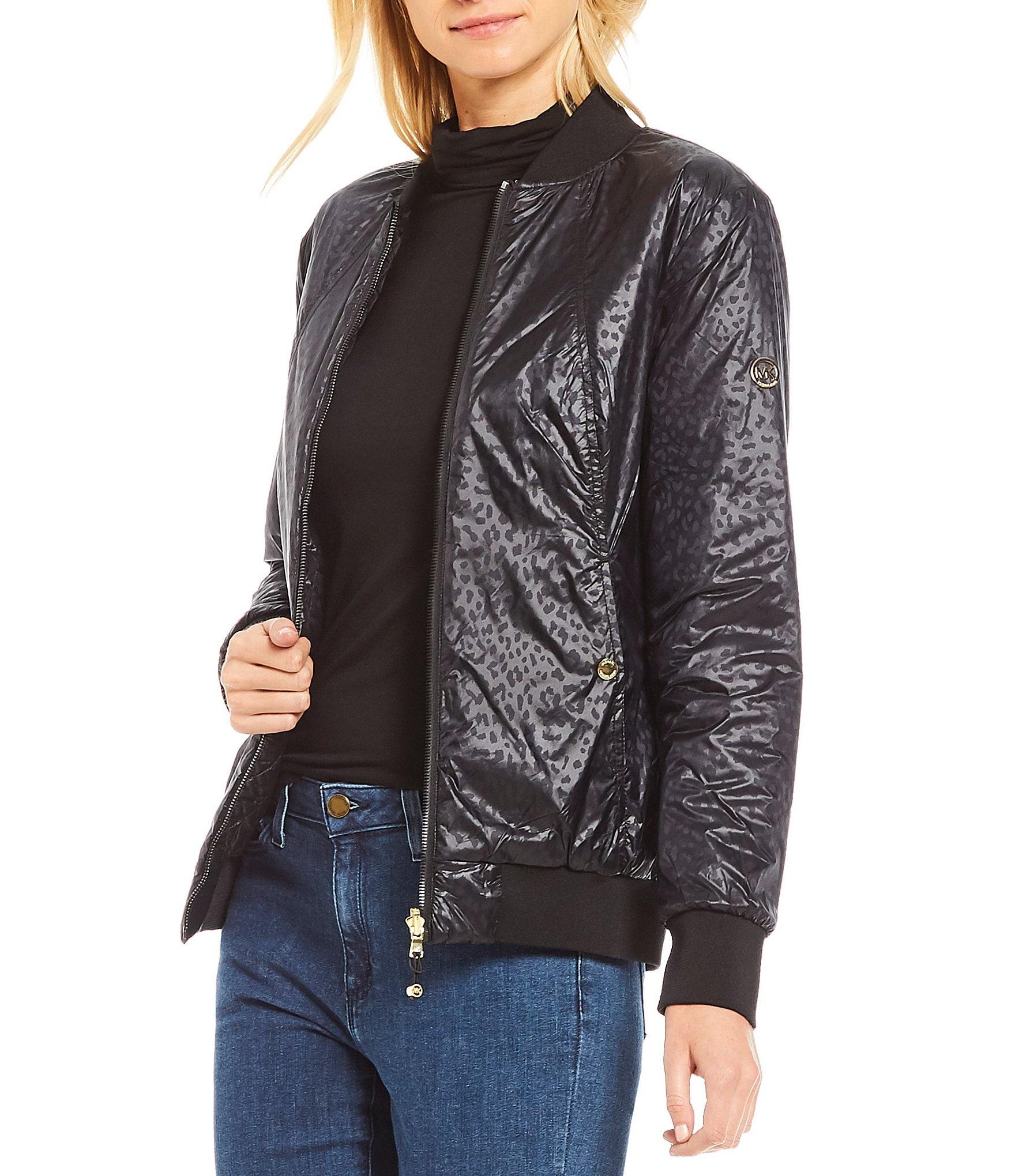 Michael michael kors reversible bomber jacket dillards for Bomber bag review