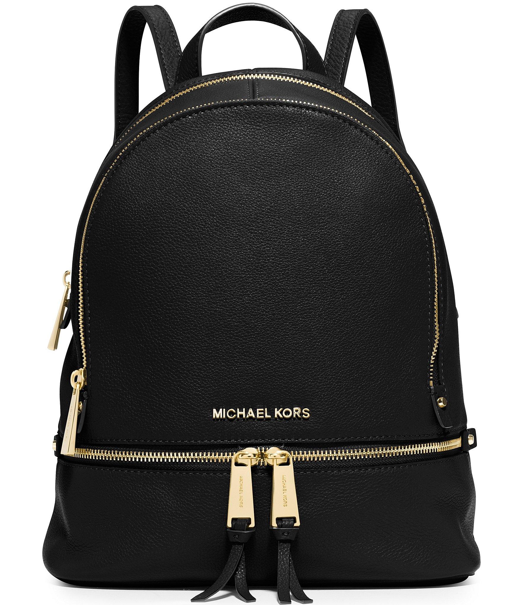 a7c662c65d2d MICHAEL Michael Kors Rhea Zip Medium Pebble Leather Backpack