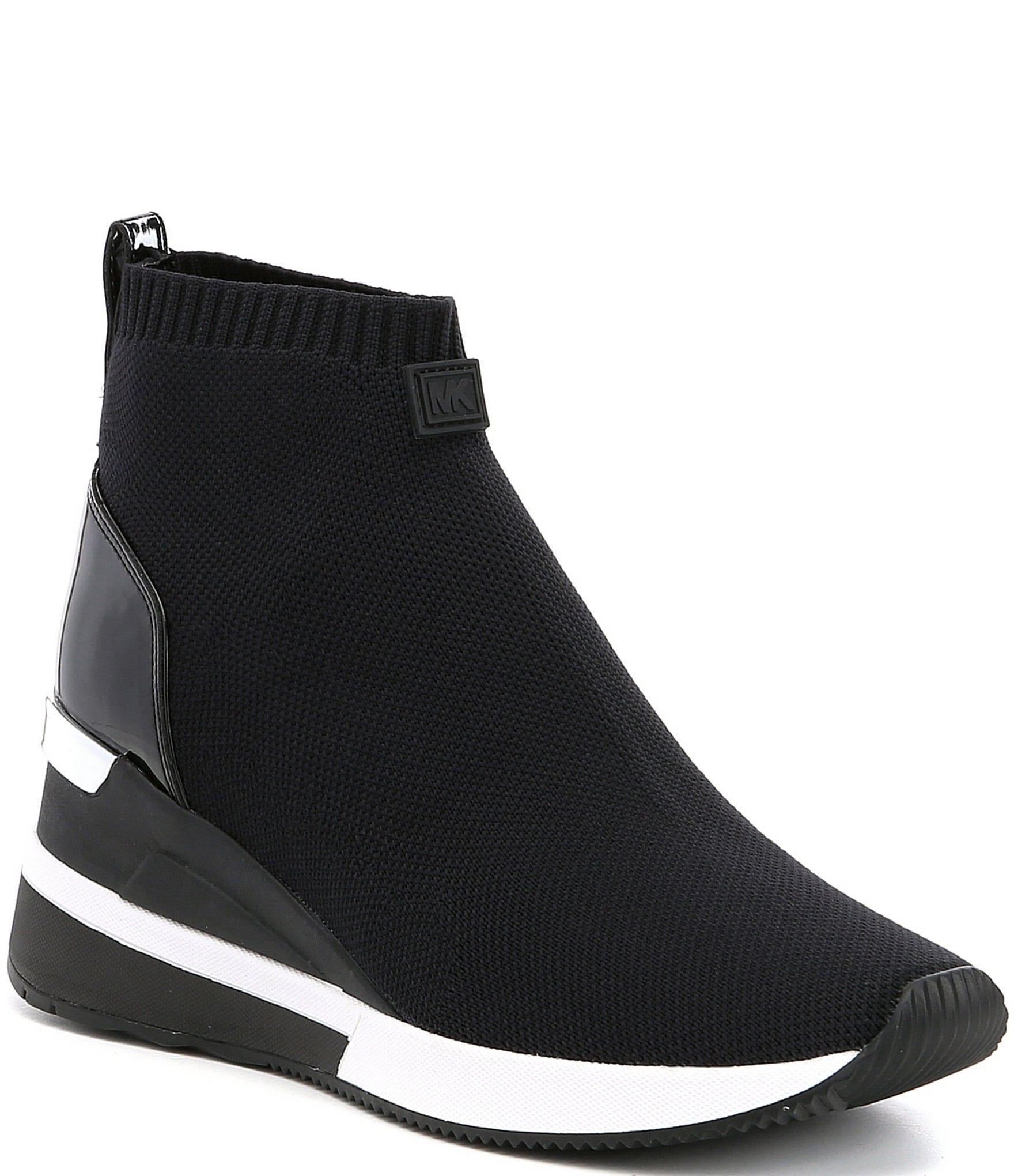 66689fe98f2 MICHAEL Michael Kors Skyler Wedge Sneaker Booties