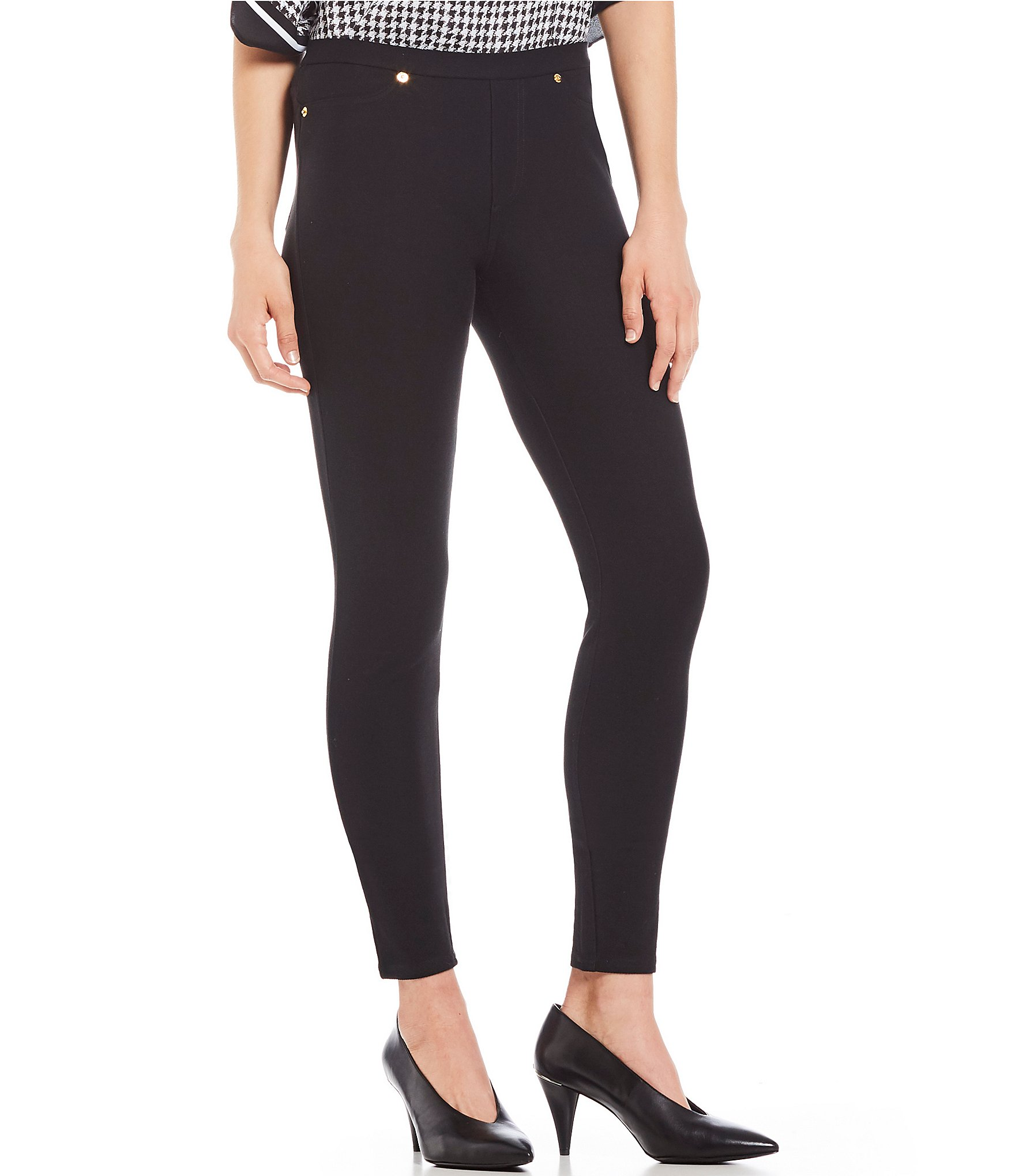718071009910a black and white: Women's Leggings | Dillard's
