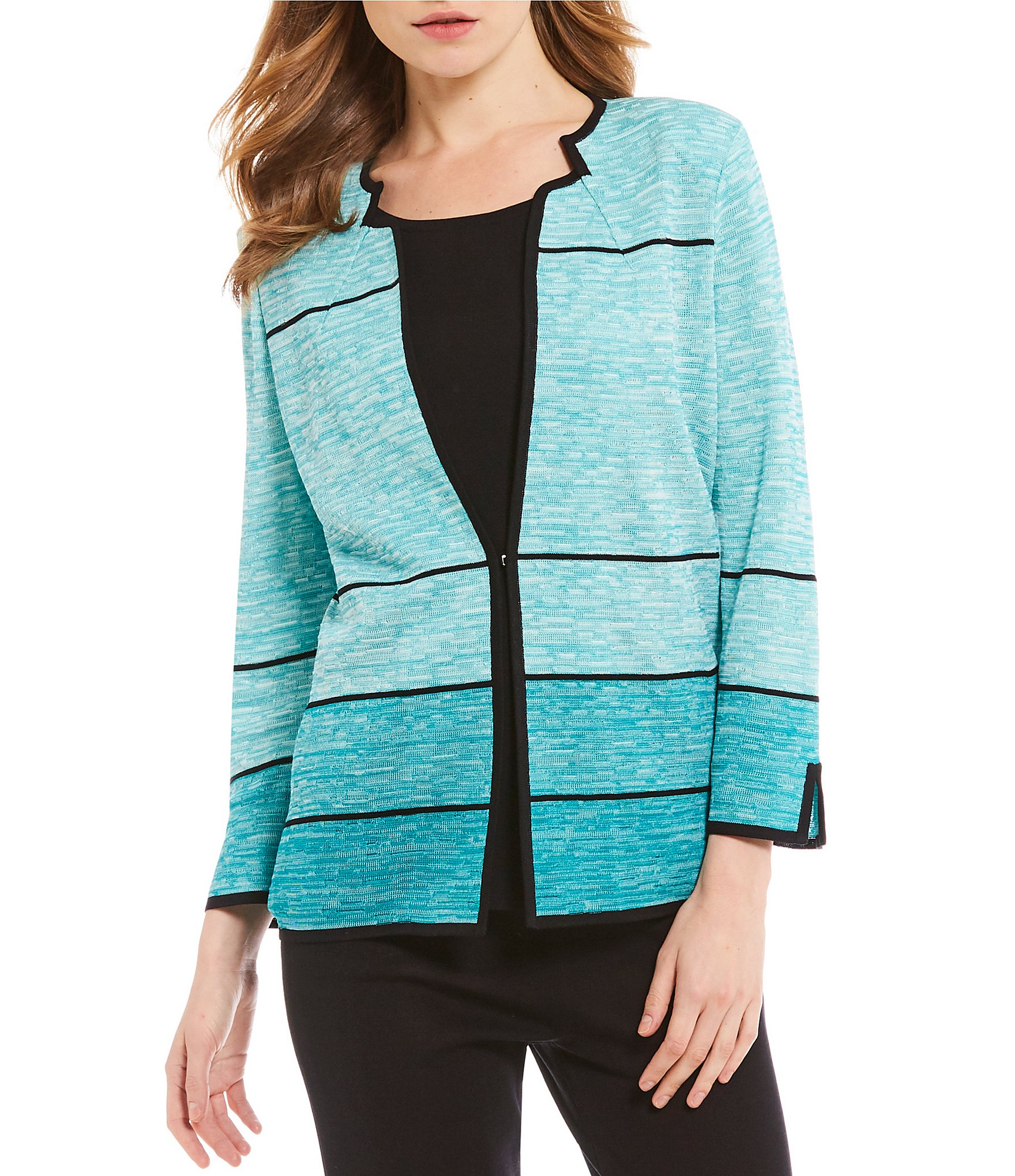 Misook's designer knitwear sales has styles you will love, at prices you will love more. Machine washable knits made for easy care.