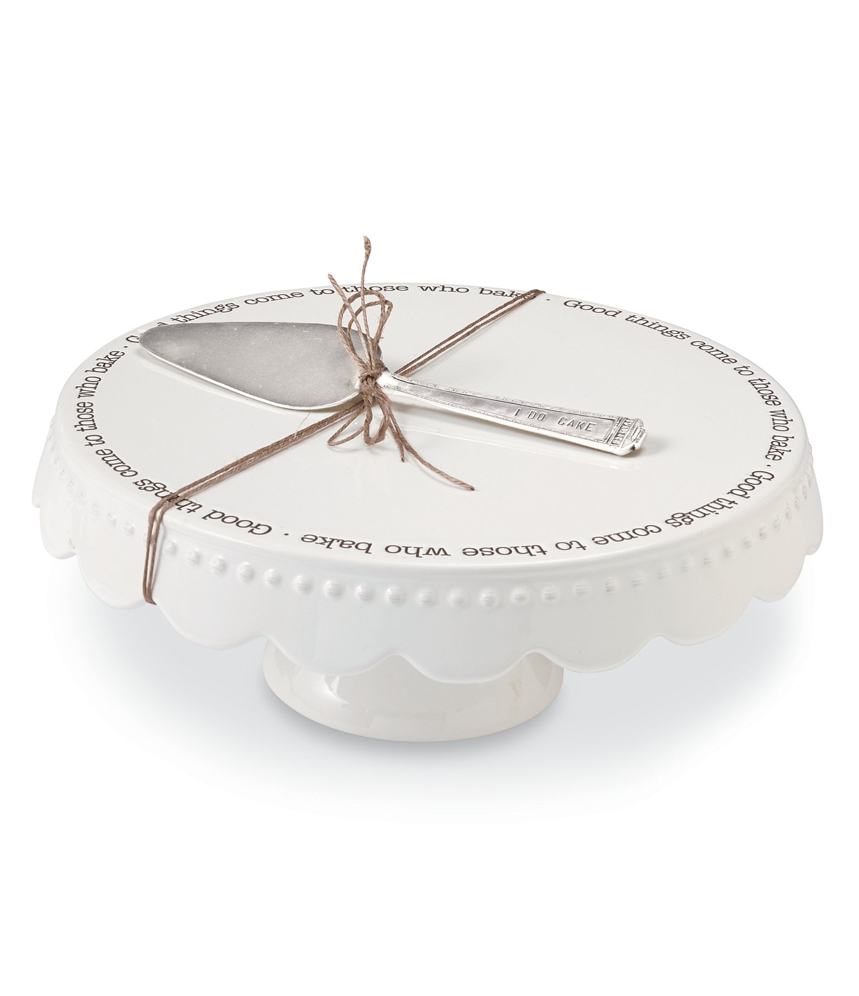 Cake Plates Stands Domes Dillard S