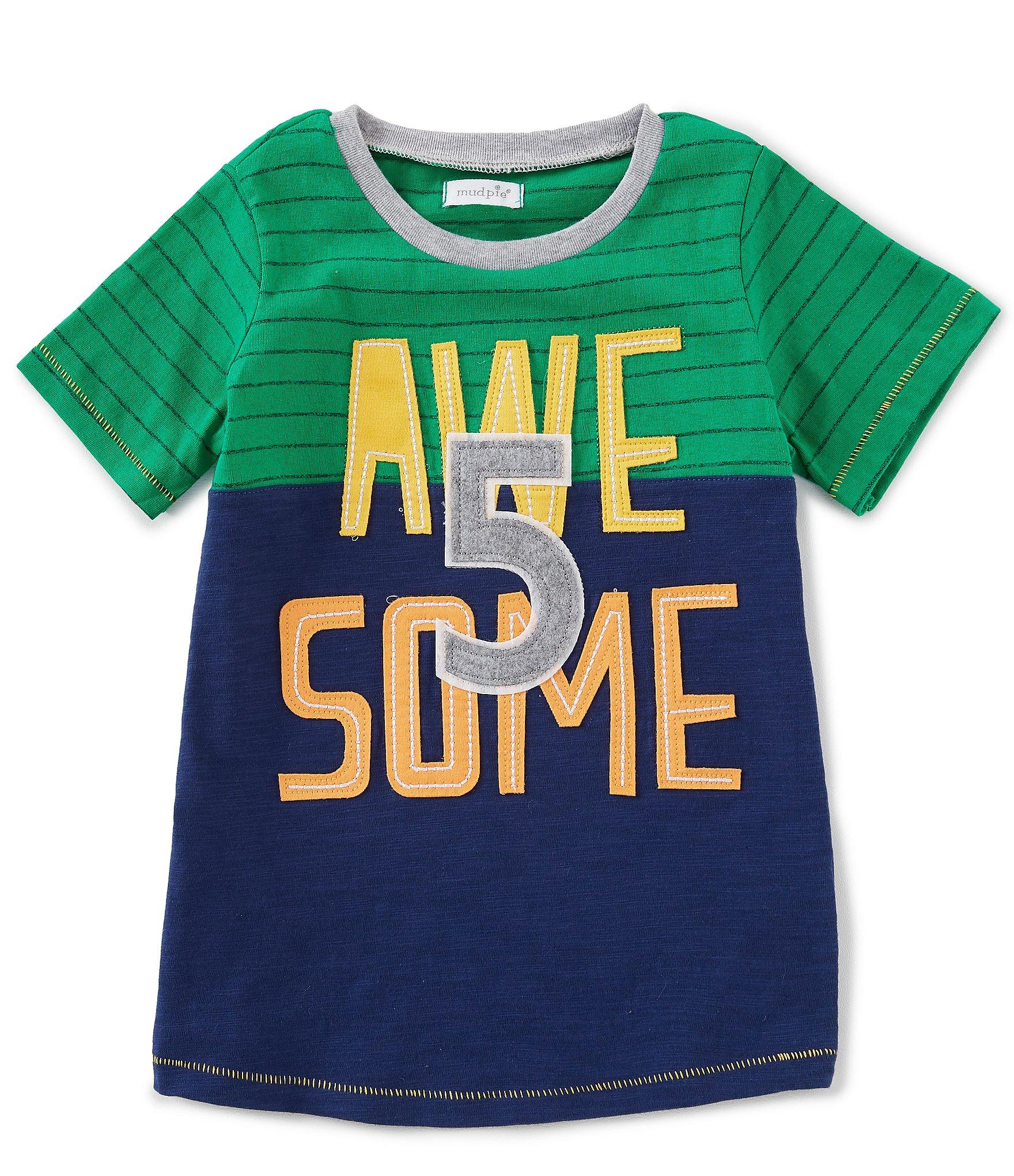 44547b99e Mud Pie Little Boys' (2T-7) Tee Shirts | Dillard's