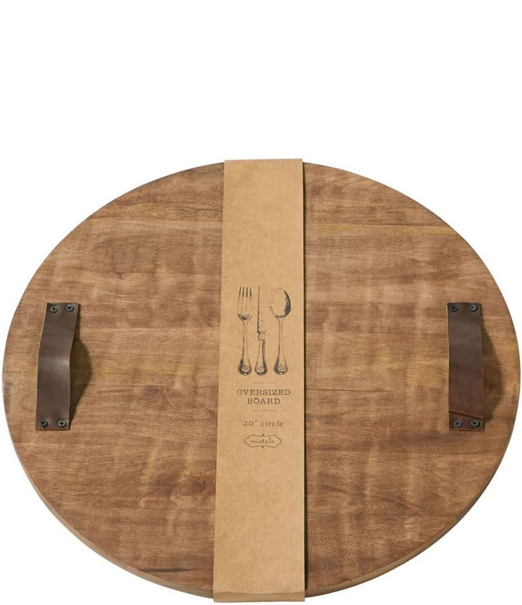 Mud Pie Quatrefoil Wood Board