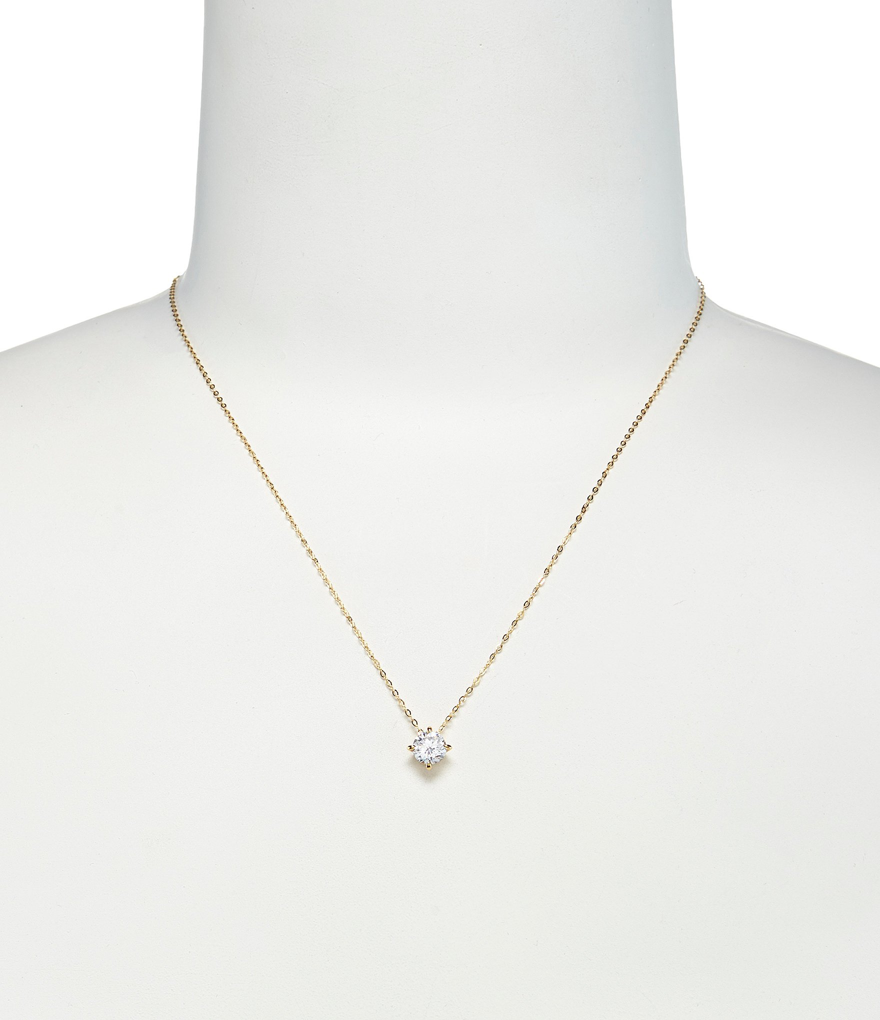 Floating Cubic Zirconia Pendant Necklace by Nadri