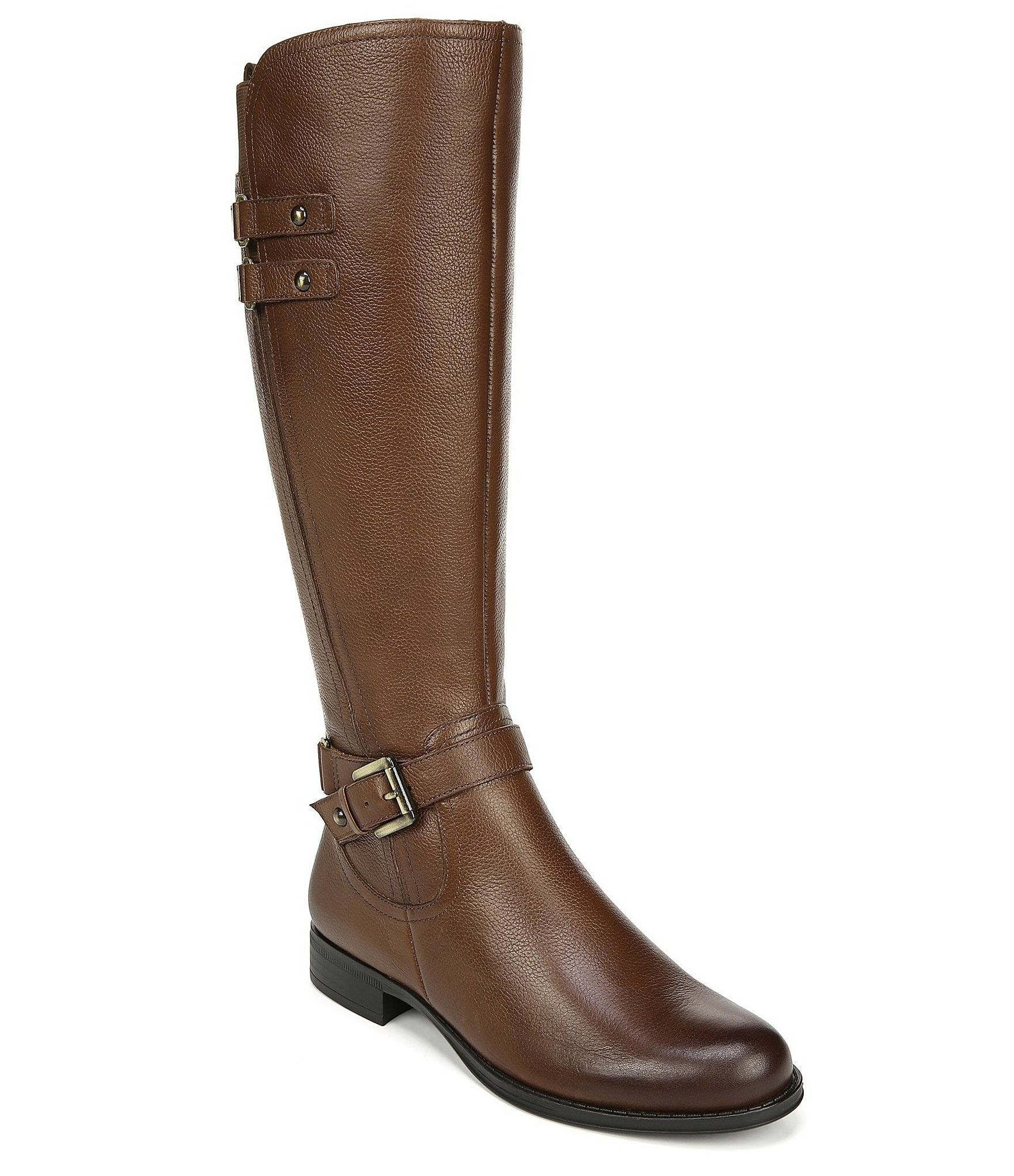 27720e7f53b Naturalizer Jackie Tall Leather Riding Boots