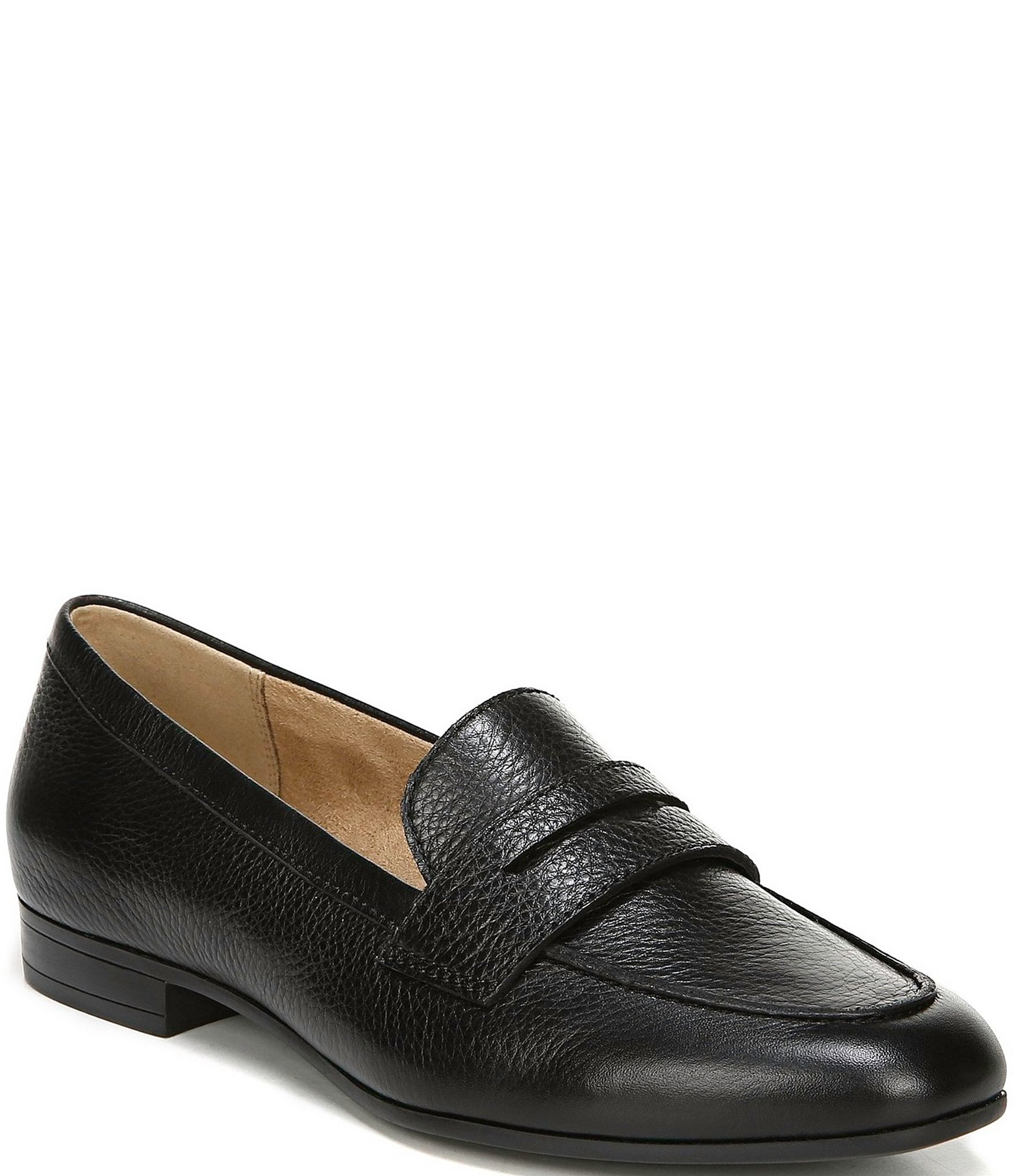 1ef88ce6552 Naturalizer Juliette Penny Keeper Leather Loafers