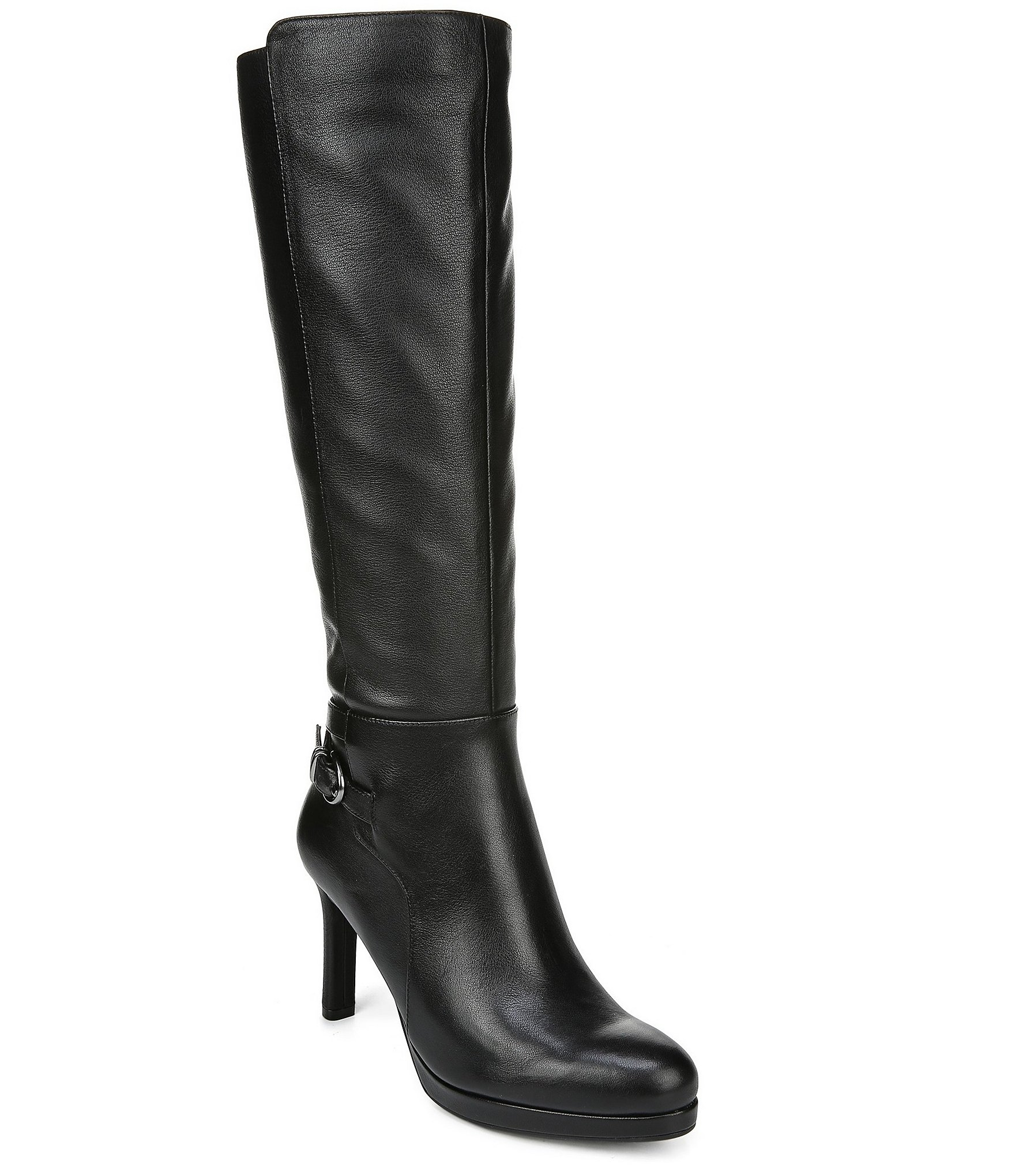Naturalizer Tai Wide Calf Leather Tall