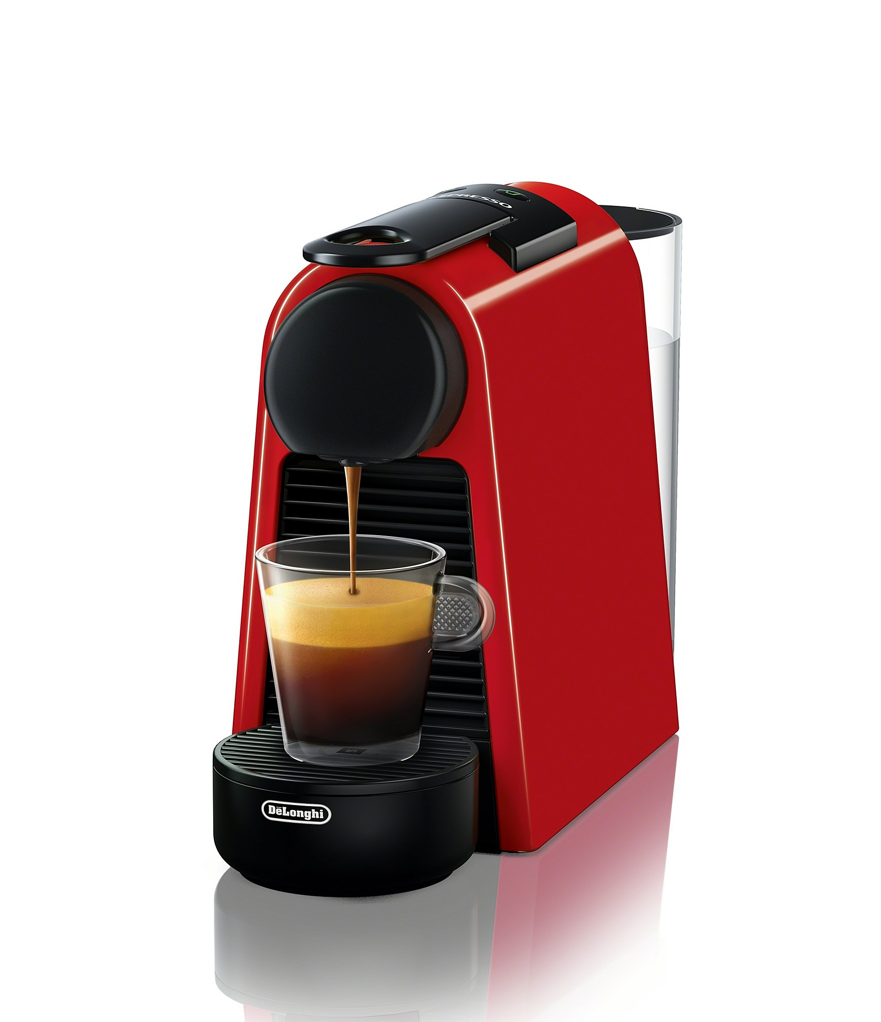 nespresso by delonghi essenza mini espresso machine dillards. Black Bedroom Furniture Sets. Home Design Ideas