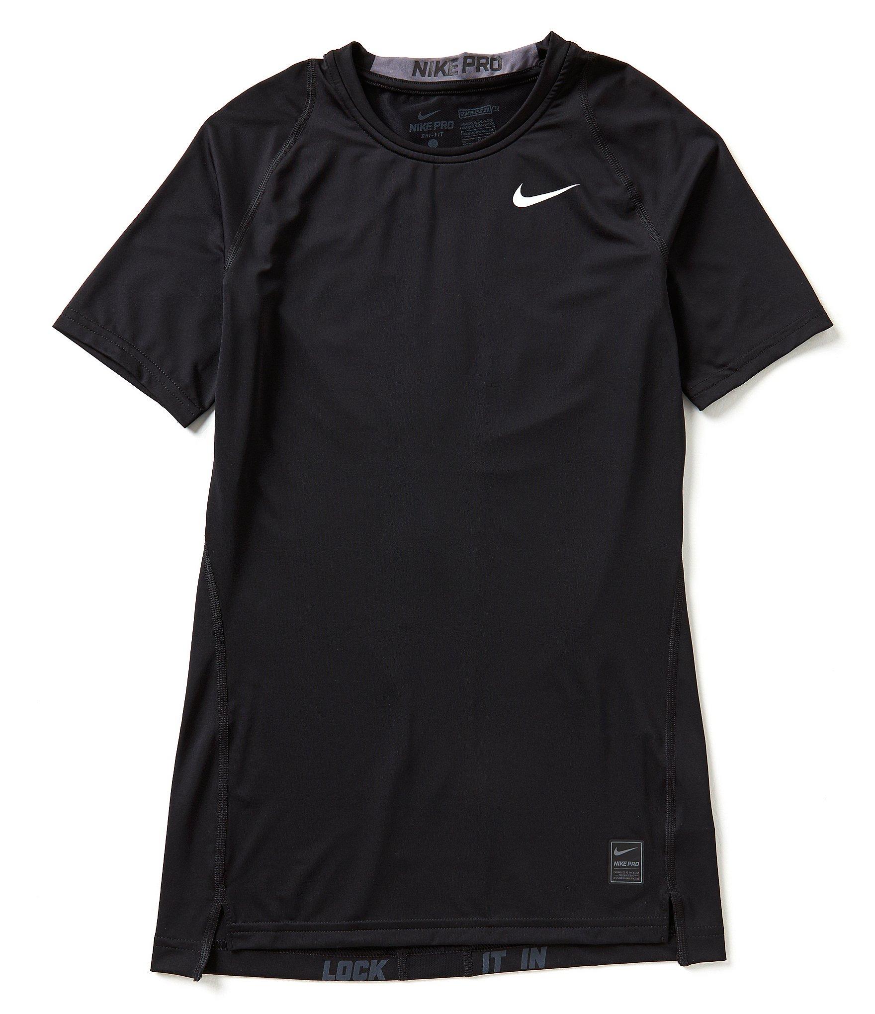 Nike hypercool compression short sleeve men s training t for Nike short sleeve shirt
